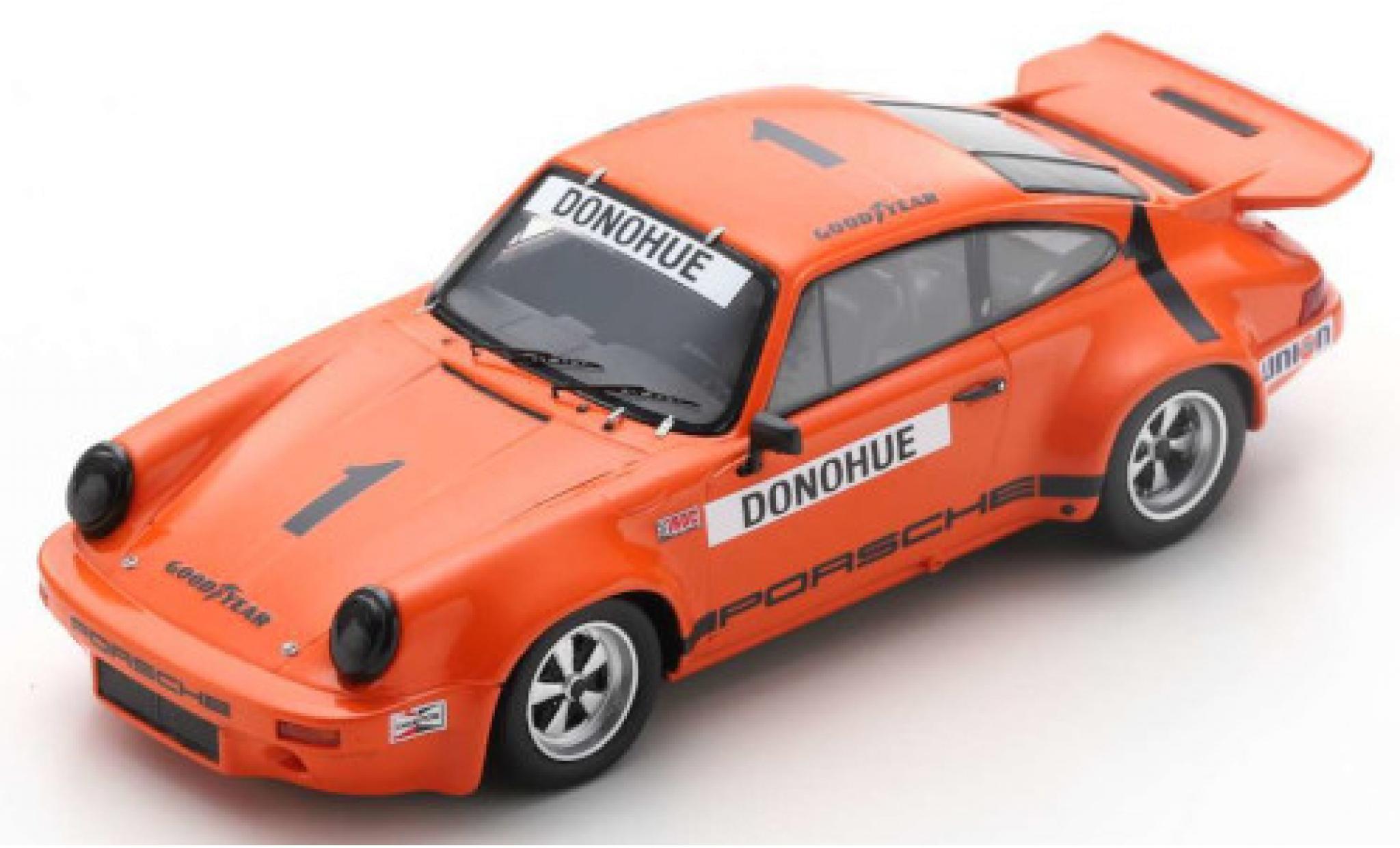 Porsche 930 RS 1/43 Spark 911 3.0 No.1 IROC Daytona 1974 M.Donohue