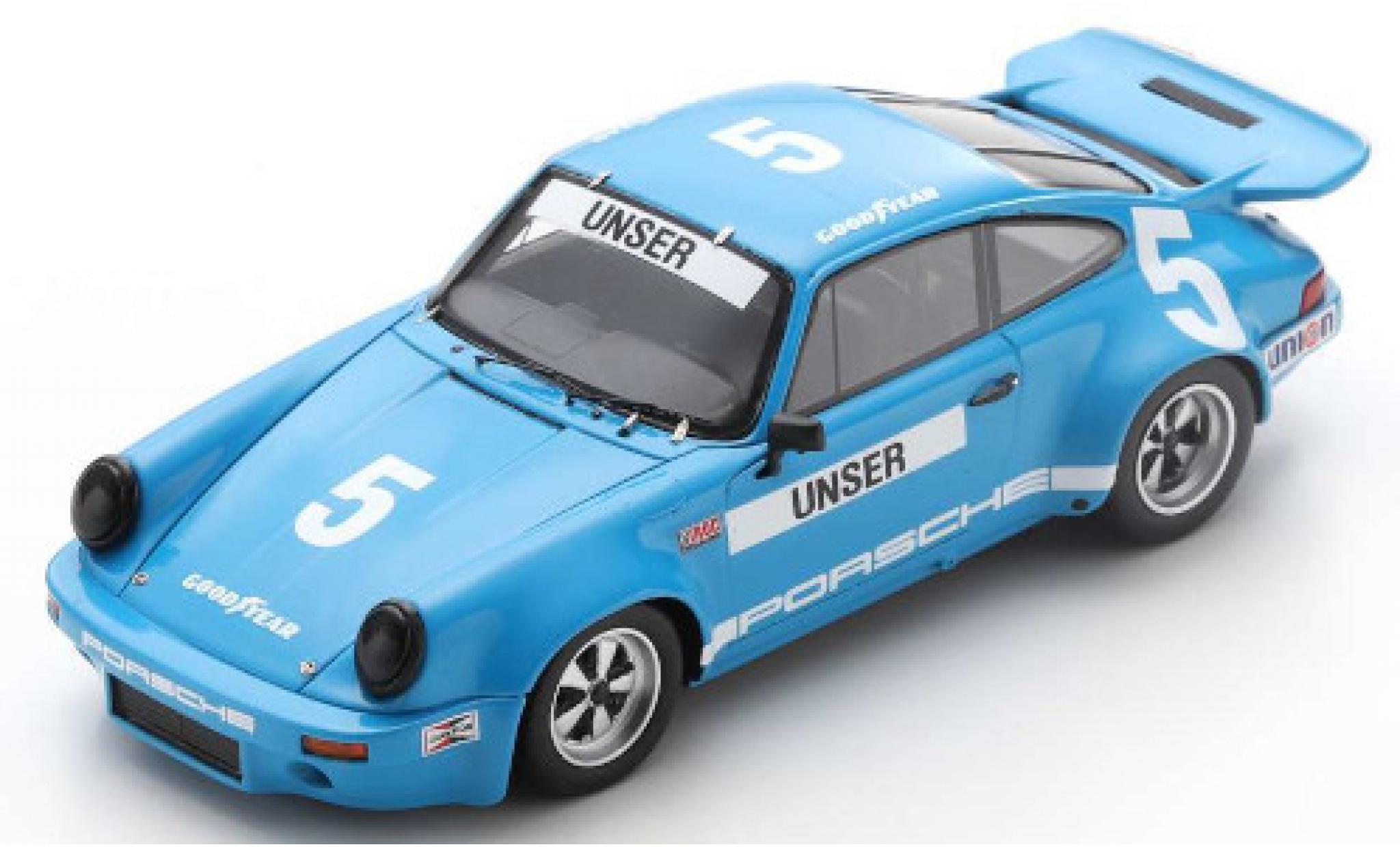Porsche 930 RS 1/43 Spark 911 3.0 No.5 IROC Daytona 1974 B.Unser