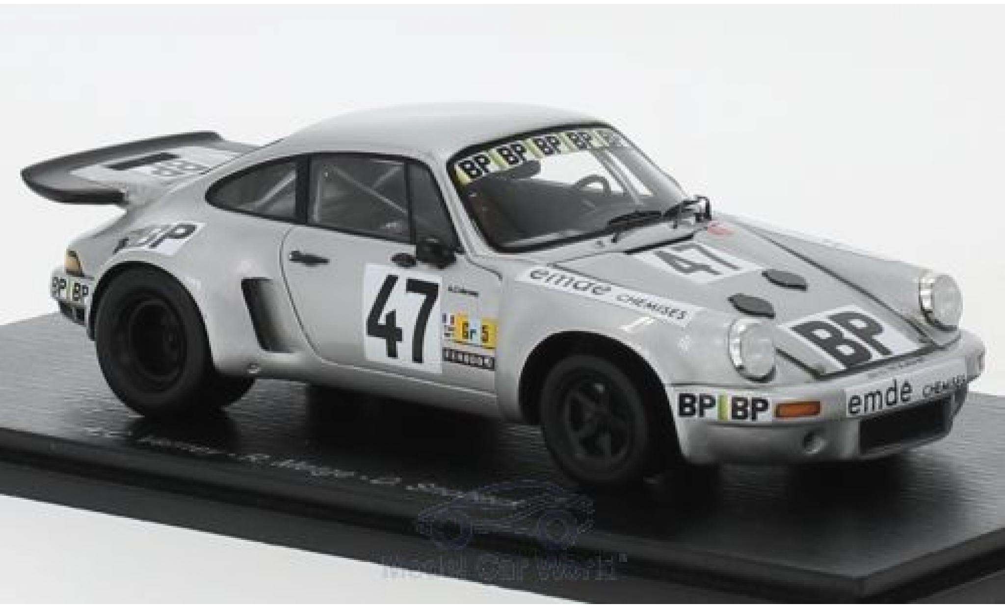 Porsche 930 RSR 1/43 Spark 911 No.47 24h Le Mans 1977 A.C.Verney/R.Metge/D.Snobeck/H.Striebig