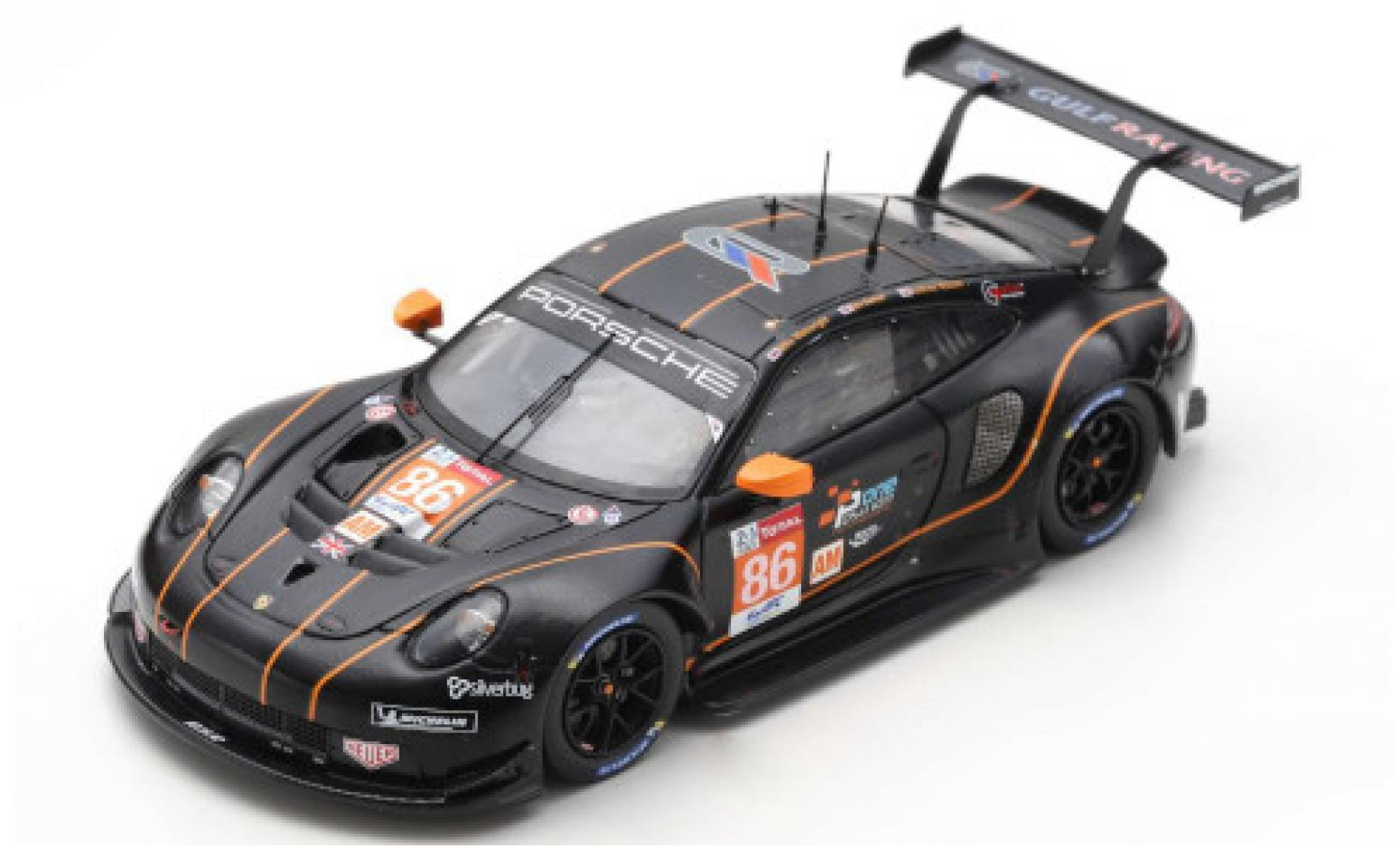 Porsche 992 RSR 1/43 Spark 911 No.86 Gulf Racing 24h Le Mans 2020 B.Barker/M.Wainwright/A.Watson