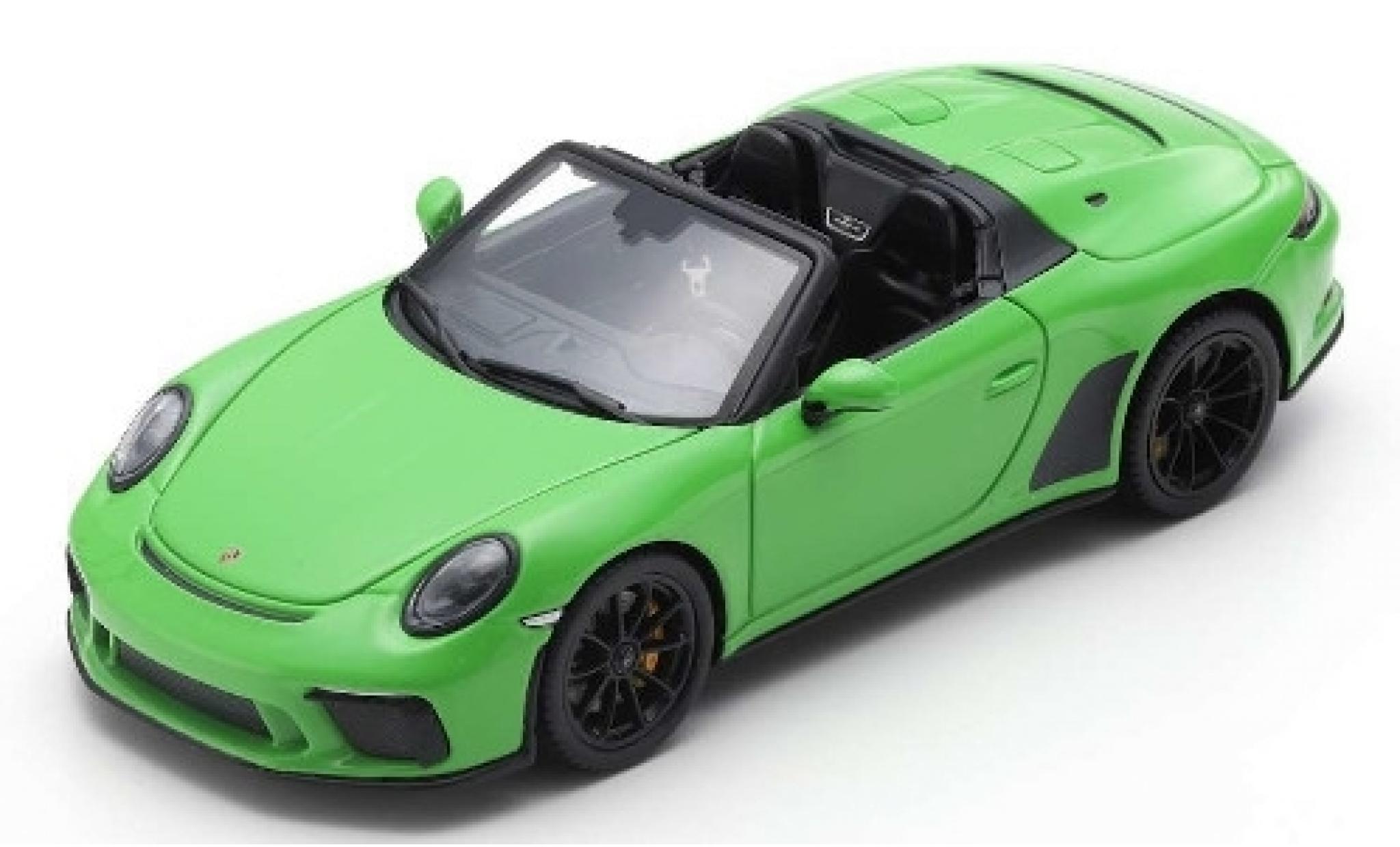 Porsche 911 1/43 Spark Speedster green 2019