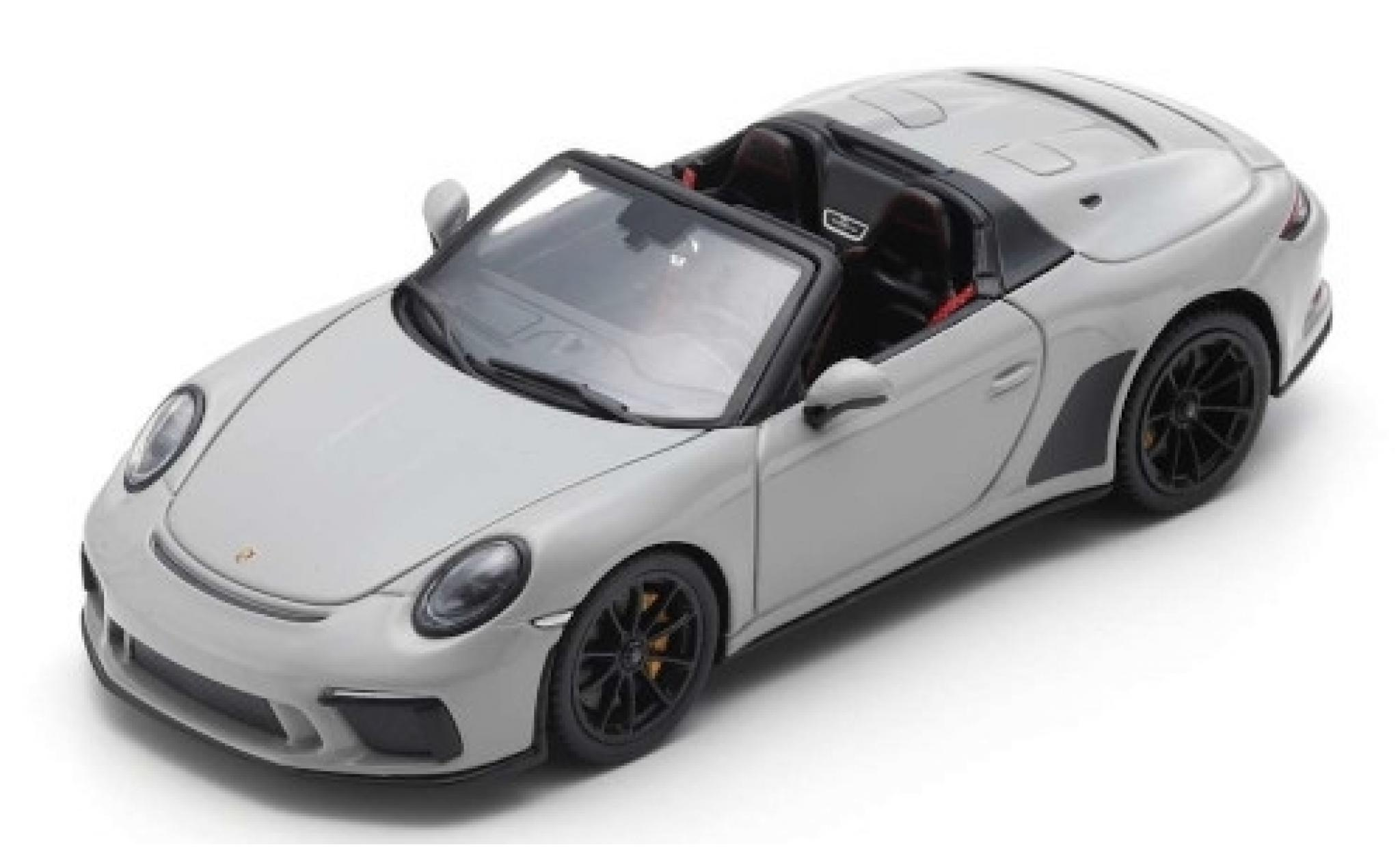Porsche 911 1/43 Spark Speedster grau 2019