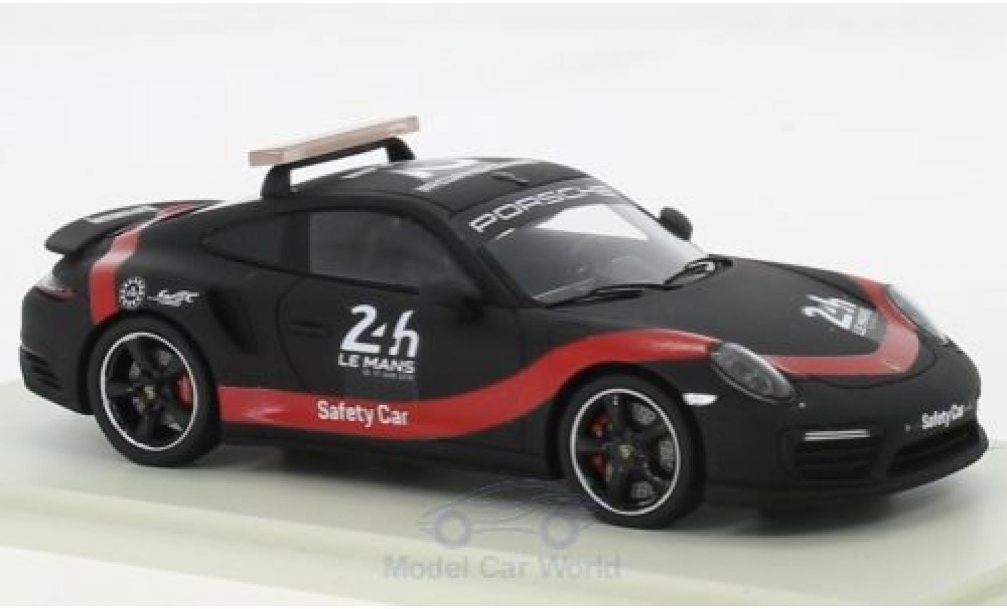 Porsche 911 1/43 Spark Turbo 24h Le Mans 2018 Saftey Car