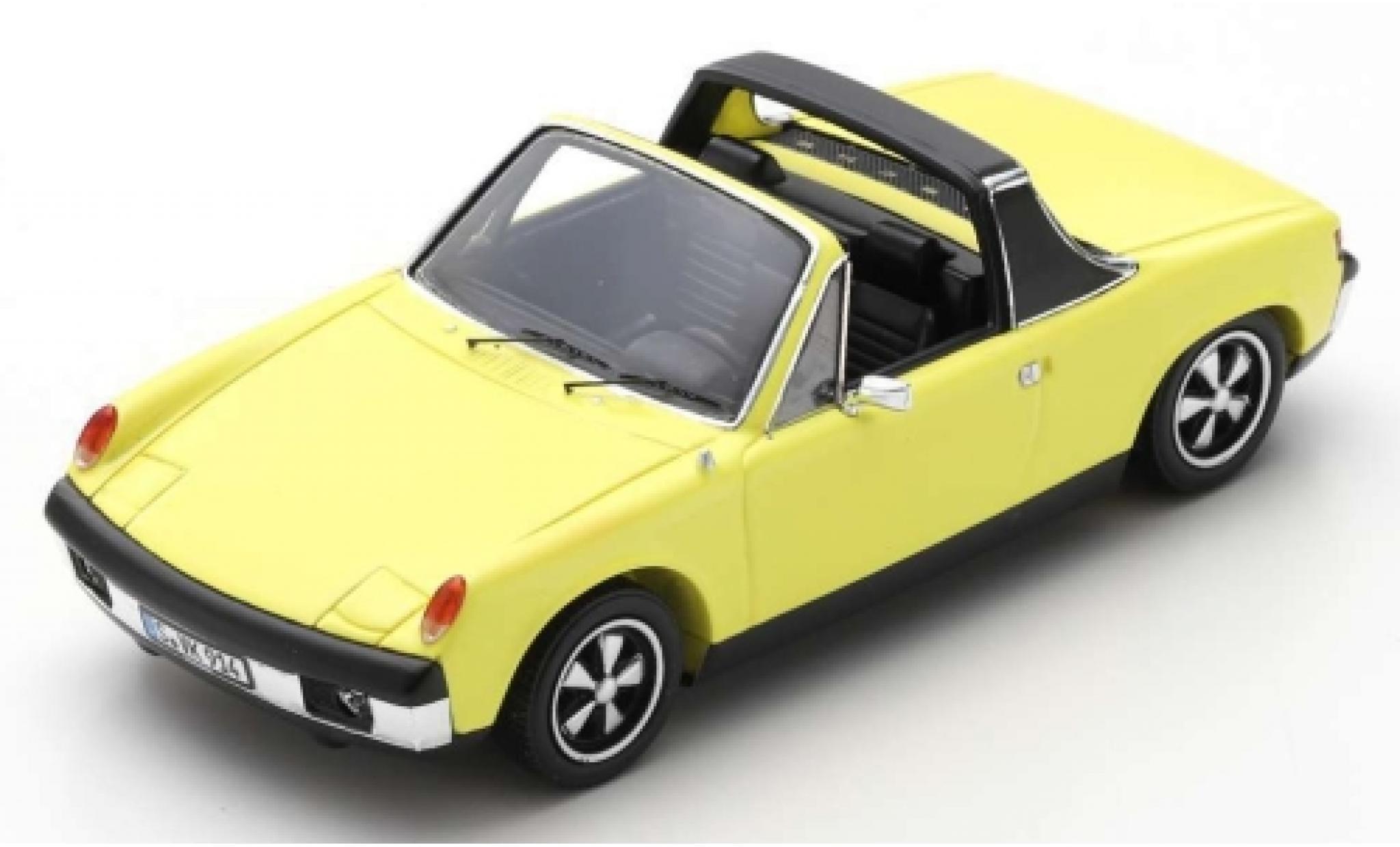 Porsche 914 1/43 Spark /6 yellow 1973