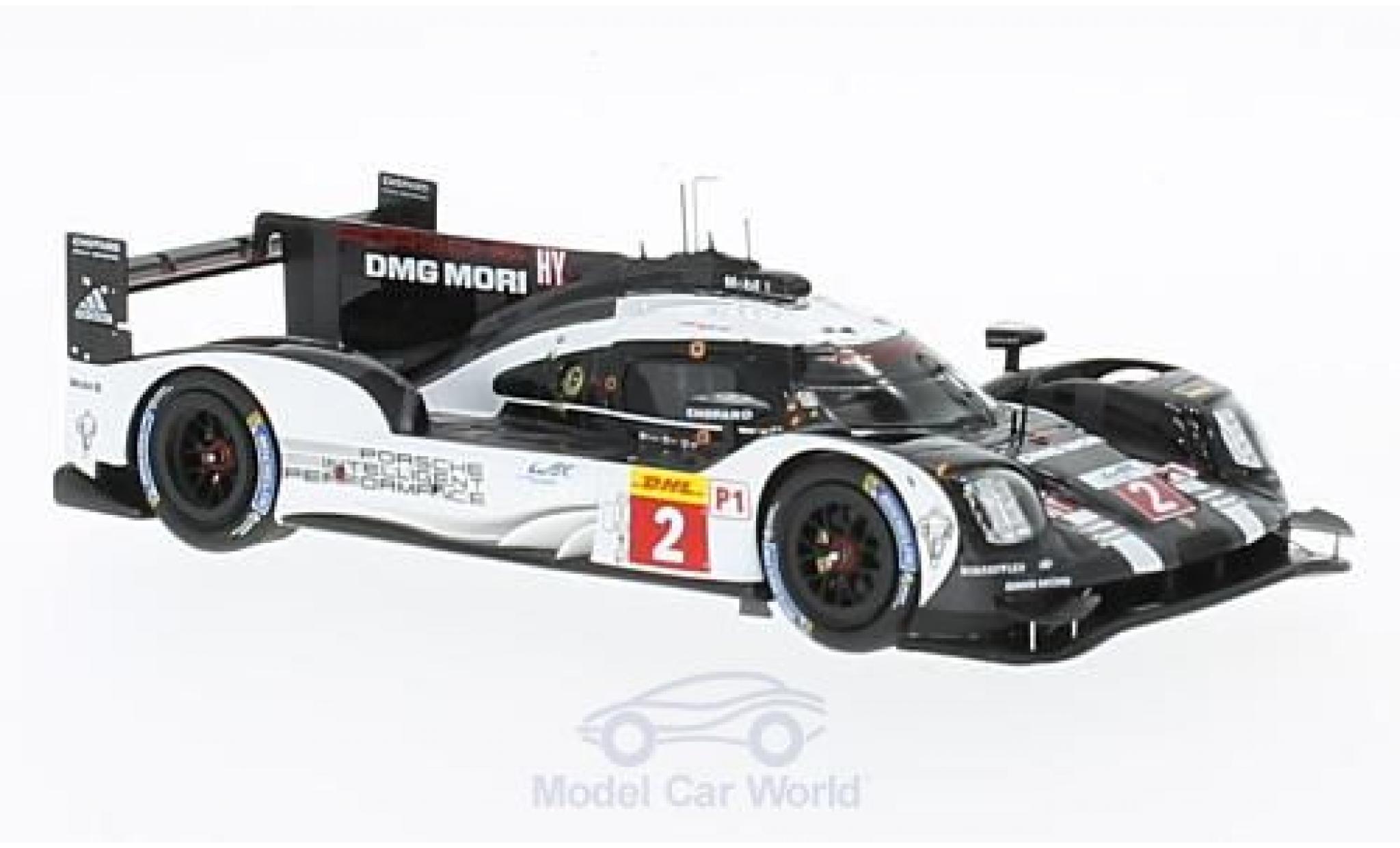 Porsche 919 2016 1/43 Spark Hybrid HY No.2 Team WEC 6h Bahrain 2016 R.Dumas/N.Jani/M.Lieb