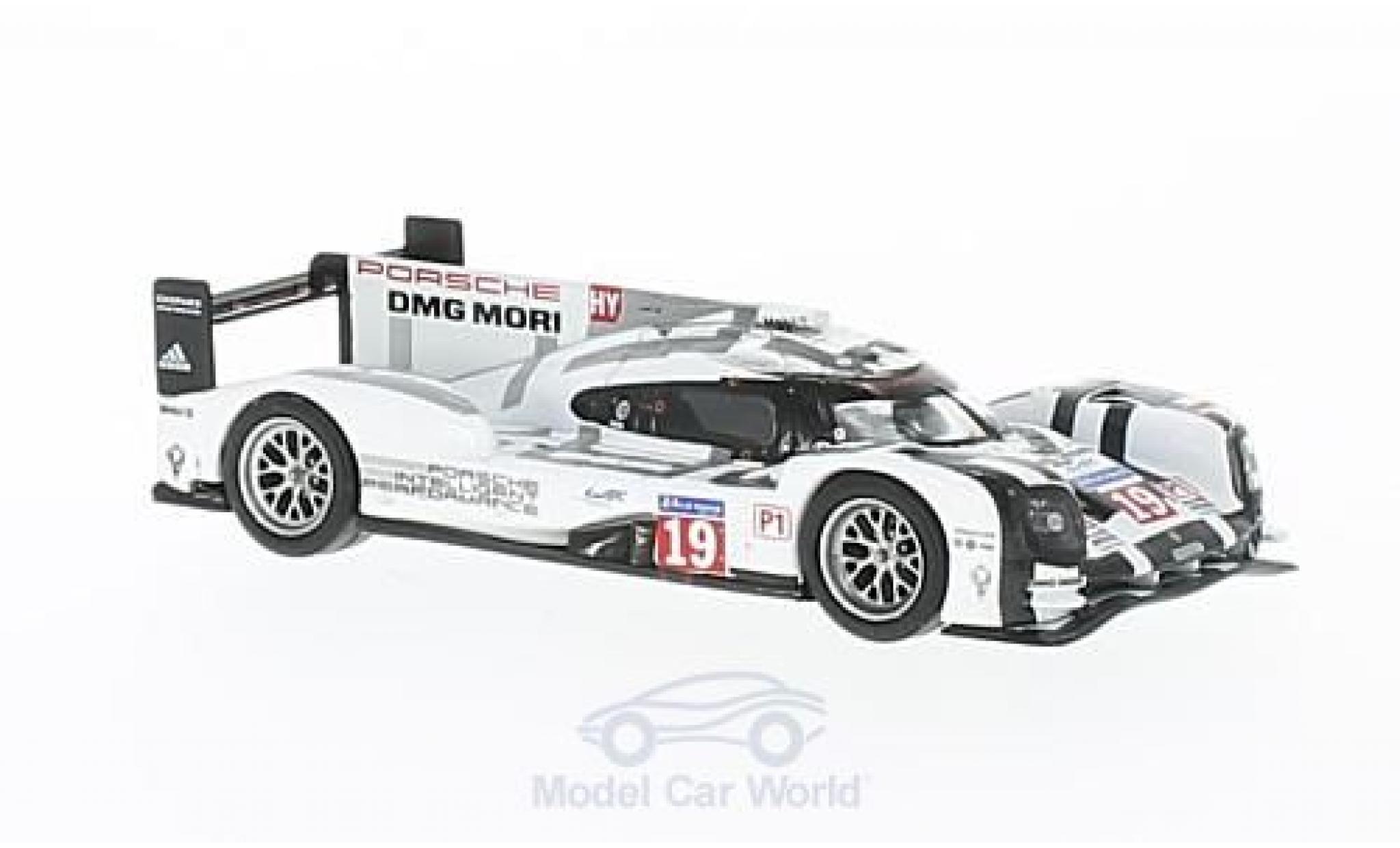 Porsche 919 1/64 Spark Hybrid No.19 24h Le Mans 2015 N.Hülkenberg/E.Bamber/N.Tandy