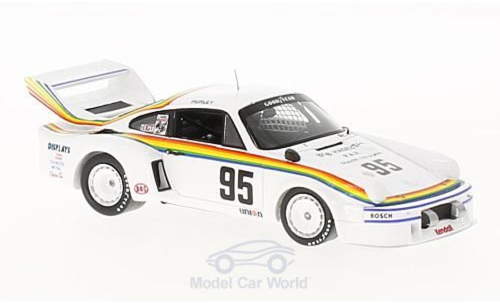 Porsche 934 1977 1/43 Spark /5 No.95 250 Miles Daytona H.Haywood