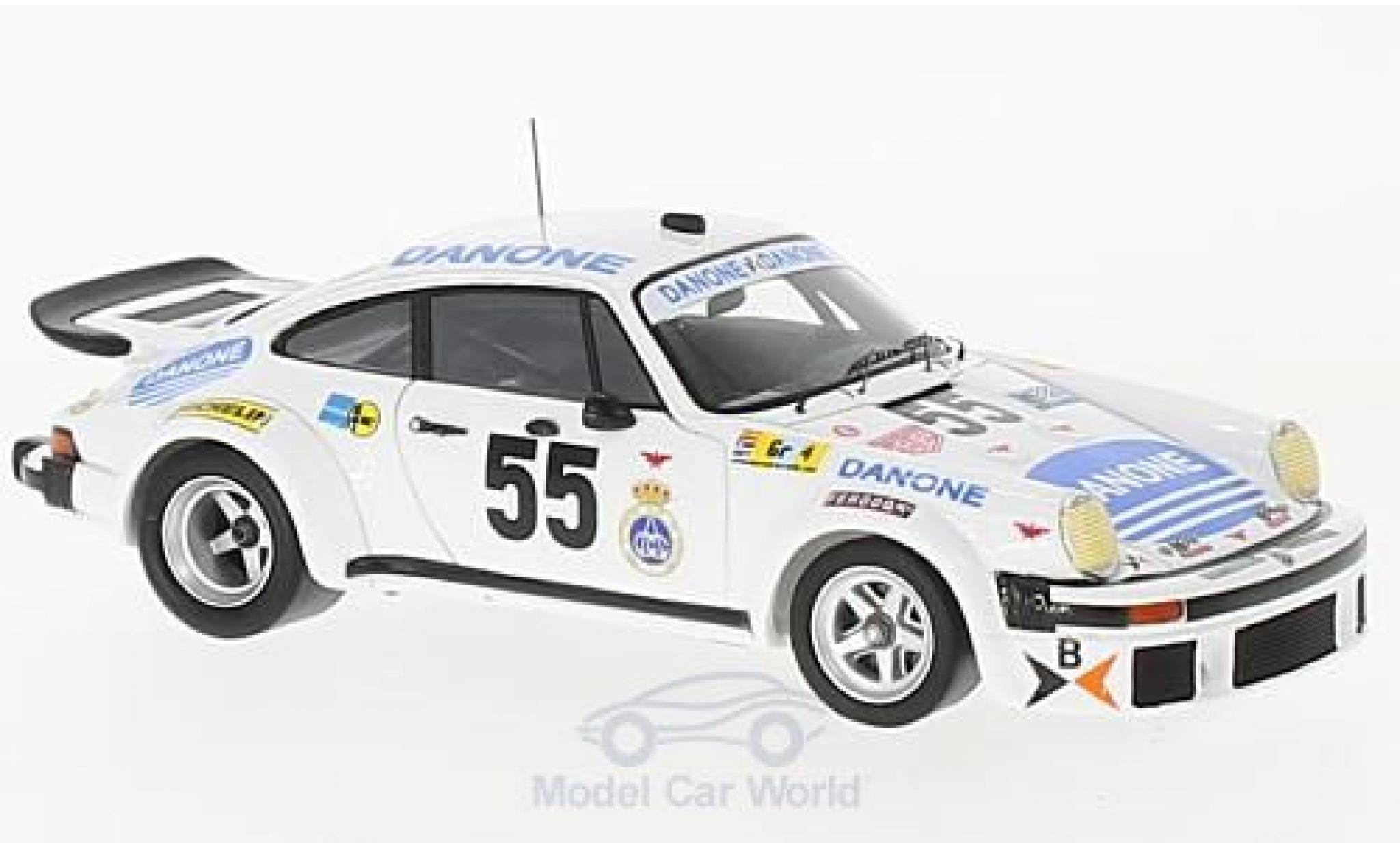 Porsche 934 1/43 Spark No.55 Danone 24h Le Mans 1977 J.Fernandez/E.Baturone/R.Tarradas