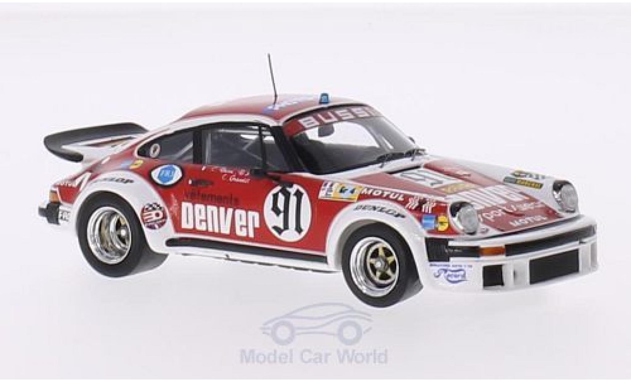 Porsche 934 1980 1/43 Spark No.91 Denver 24h Le Mans C.Bussi/B.Salam/C.Grandet
