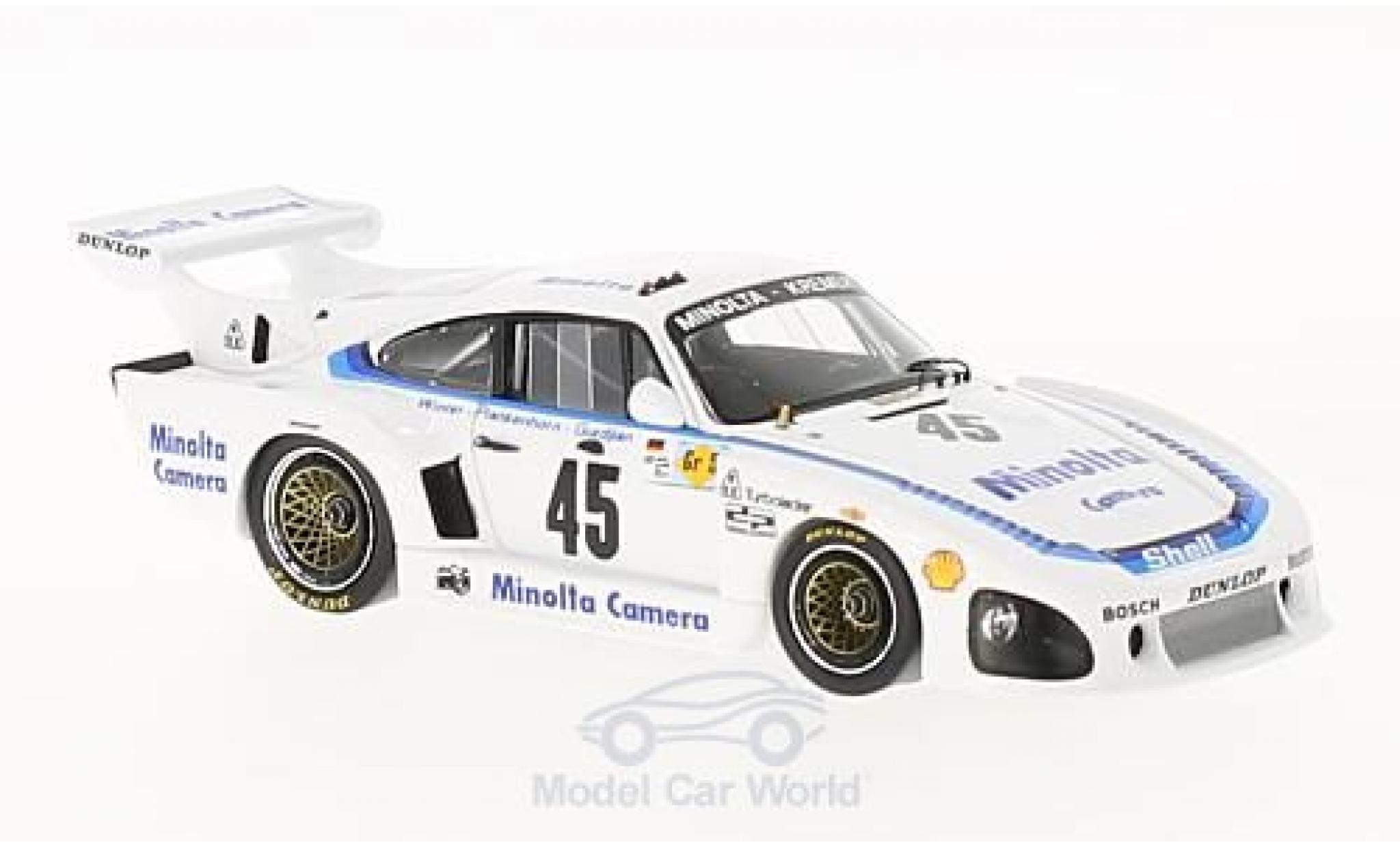 Porsche 935 1979 1/43 Spark K3 No.45 24h Le Mans 1979 A.Plankenhorn/P.Gurdjian/J.Winter