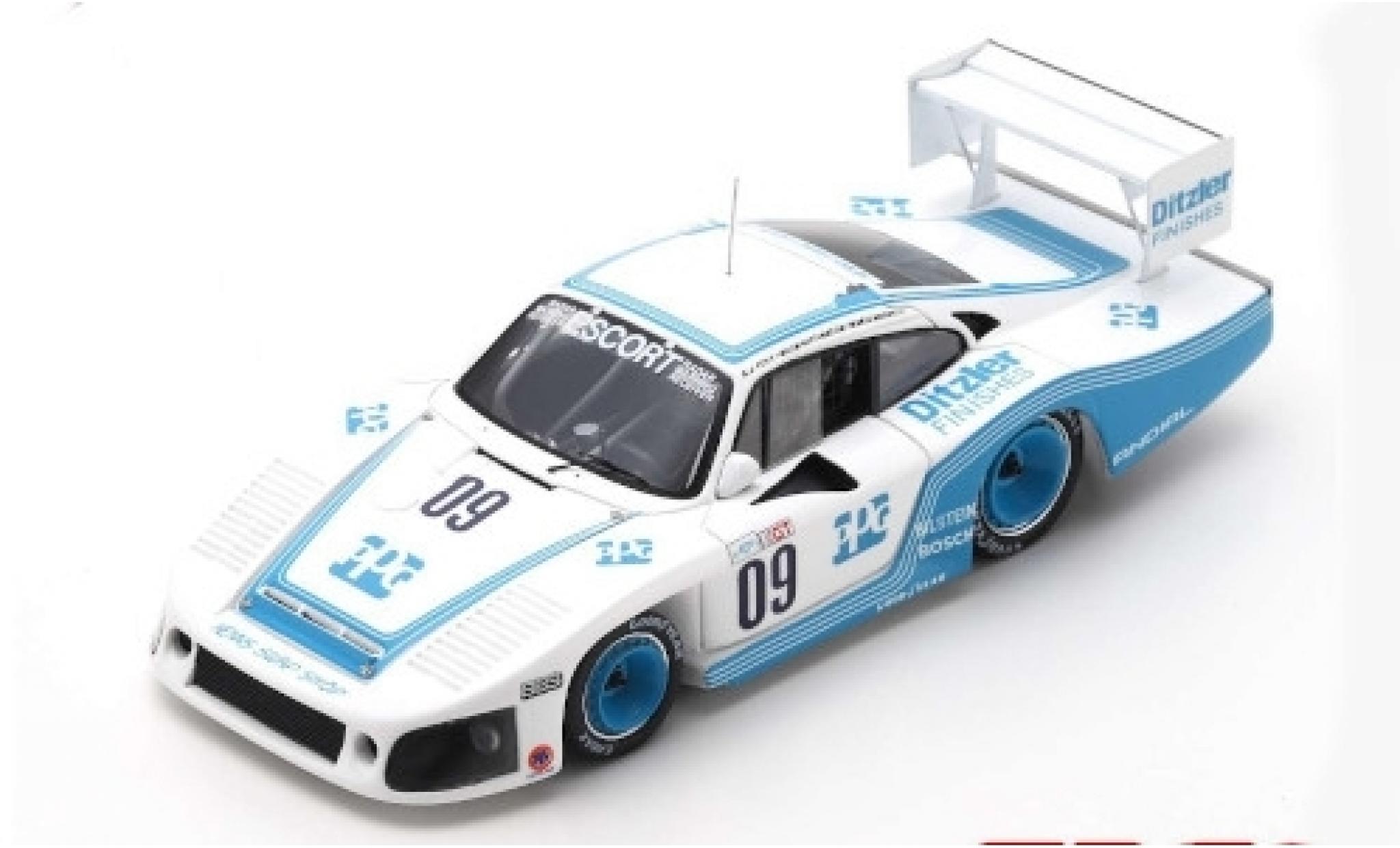 Porsche 935 1/43 Spark No.09 6h Riverside 1983 M.Andretti/A.J.Foyt/B.Whittington