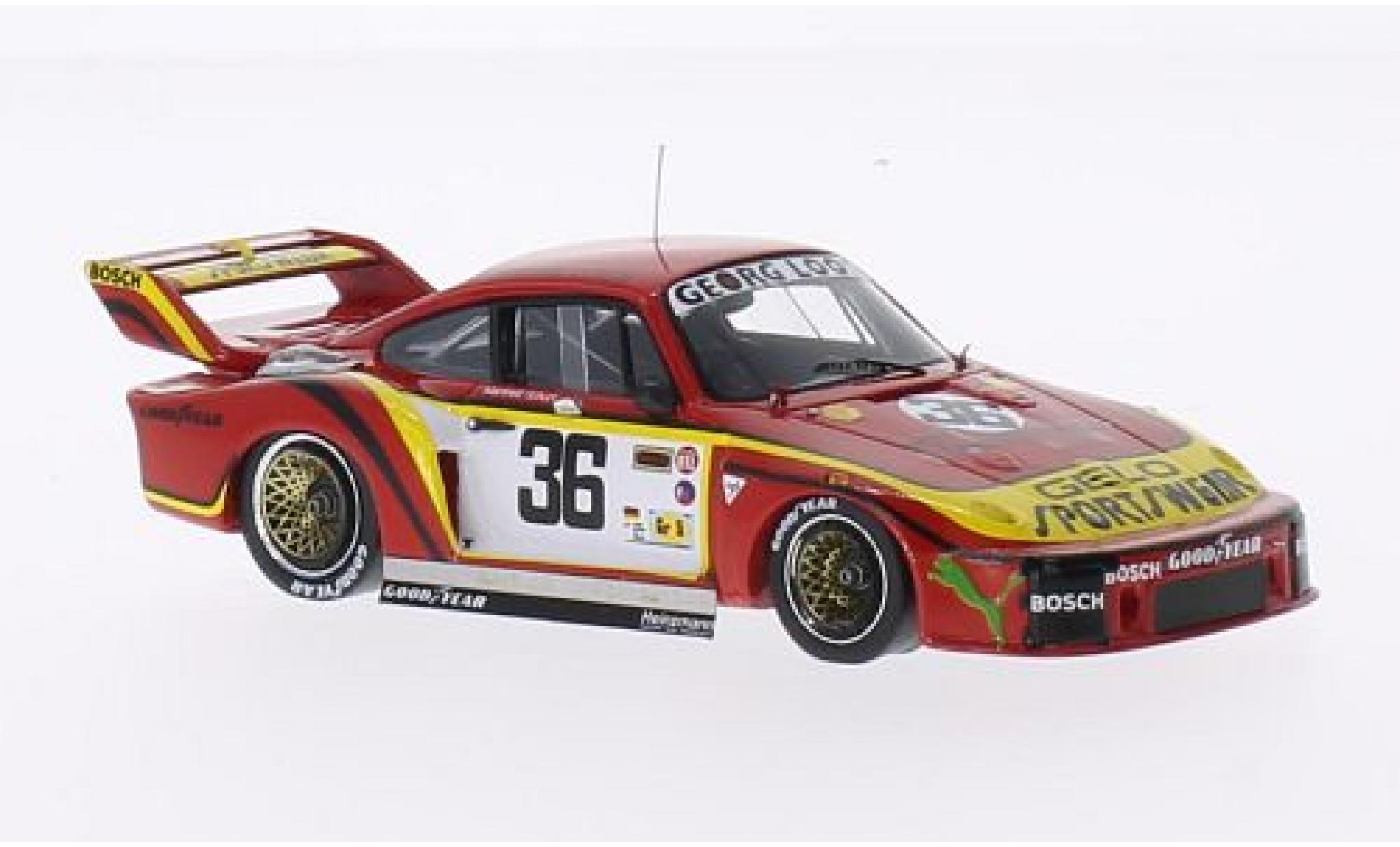 Porsche 935 1/43 Spark No.36 Georg Loos Gelo Sportswear 24h Le Mans 1979 M.Schurti/H.Heyer