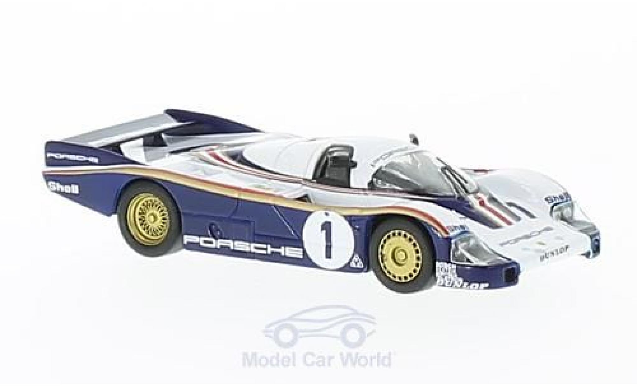 Porsche 956 1/64 Spark No.1 24h Le Mans 1982 J.Ickx/D.Bell