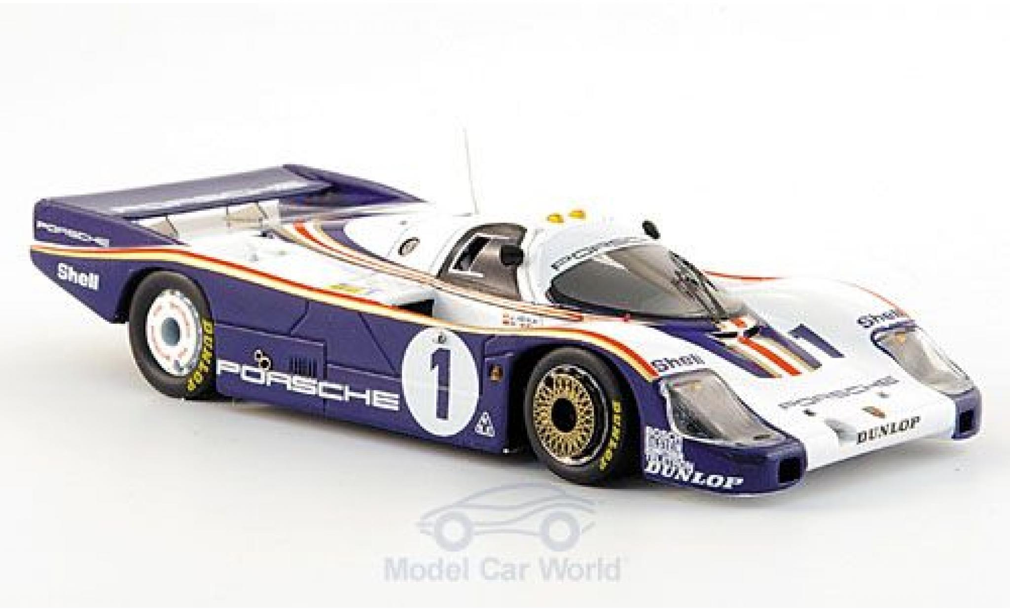 Porsche 956 1/43 Spark No.1 Rothmans System Rothmans 24h Le Mans 1982 mit Decals J.Ickx/D.Bell