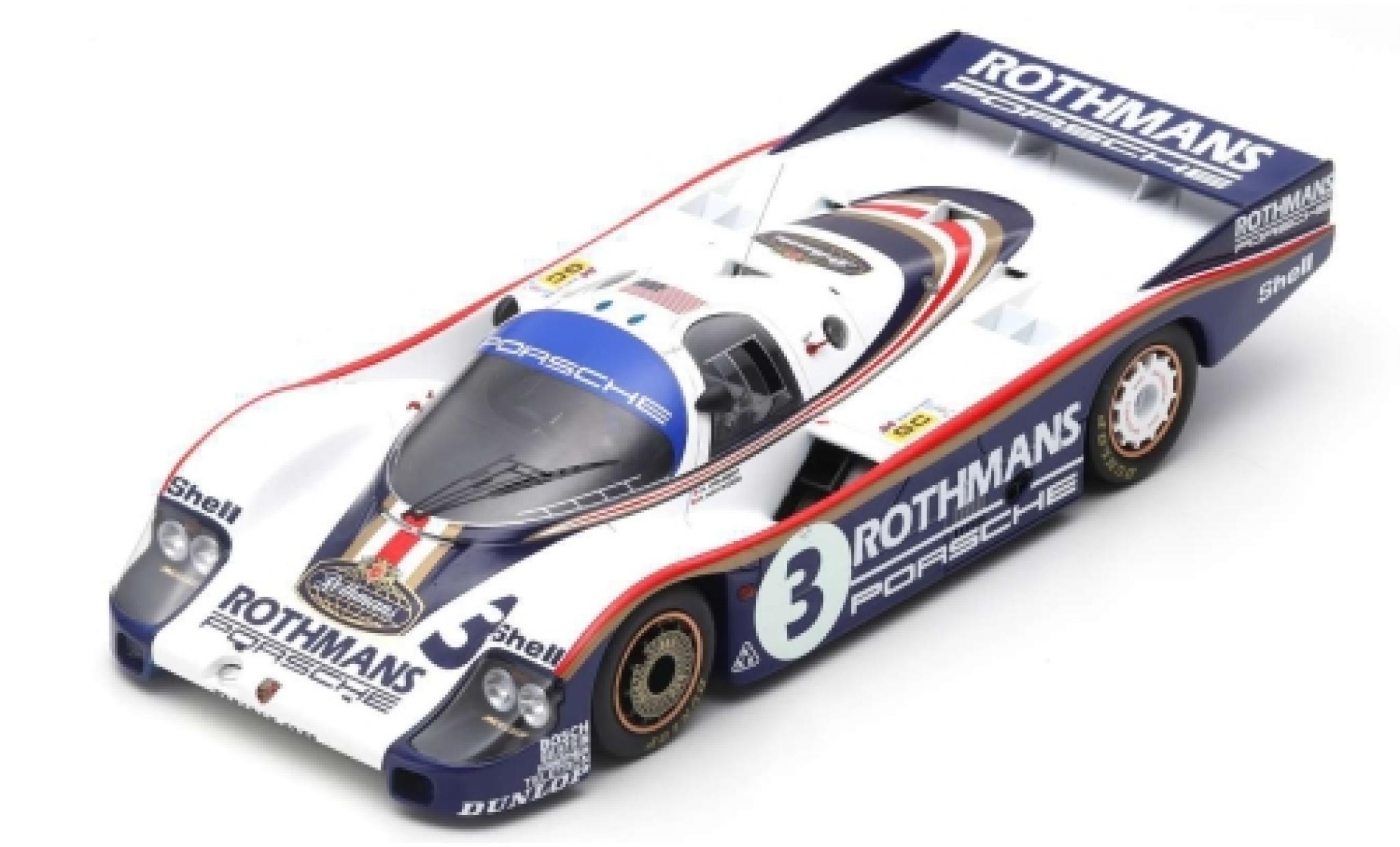 Porsche 956 1982 1/18 Spark No.3 24h Le Mans H.Haywood/A.Holbert/J.Barth