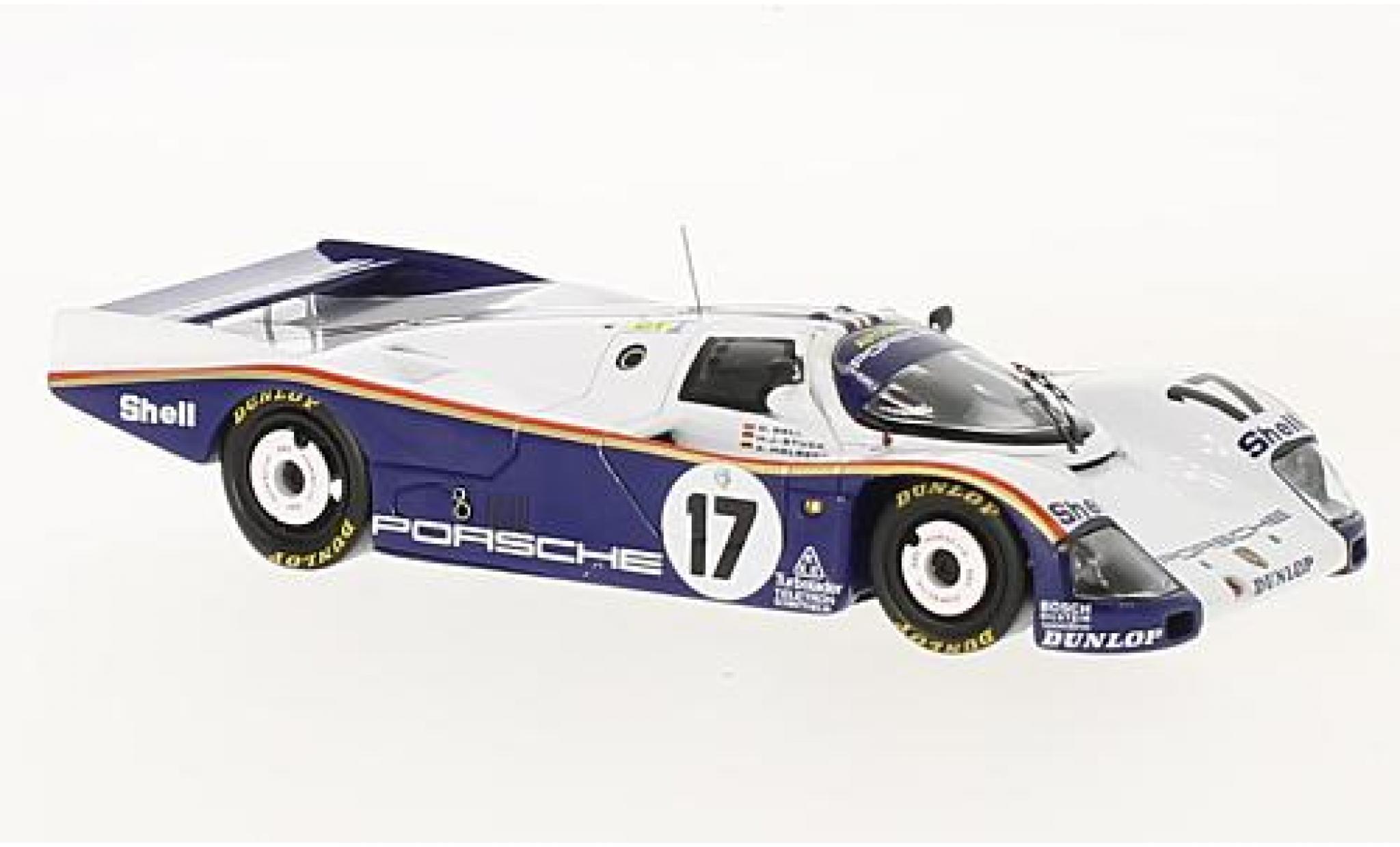 Porsche 962 1/43 Spark C No.17 Rothmans 24h Le Mans 1987 avec Decals D.Bell/A.Holbert/H-J.Stuck