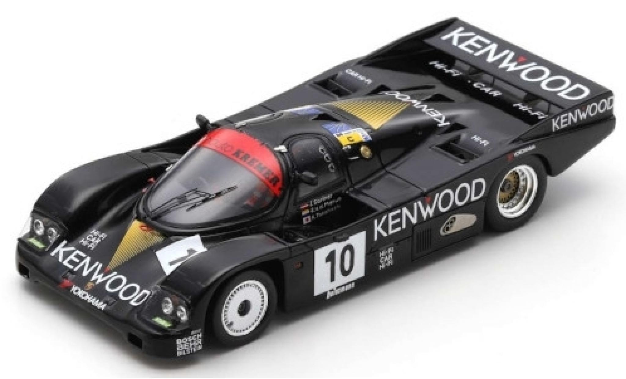 Porsche 962 1986 1/43 Spark C RHD No.10 Kremer Racing Kenwood 24h Le Mans J.Gartner/S.van der Merwe/K.Takahashi