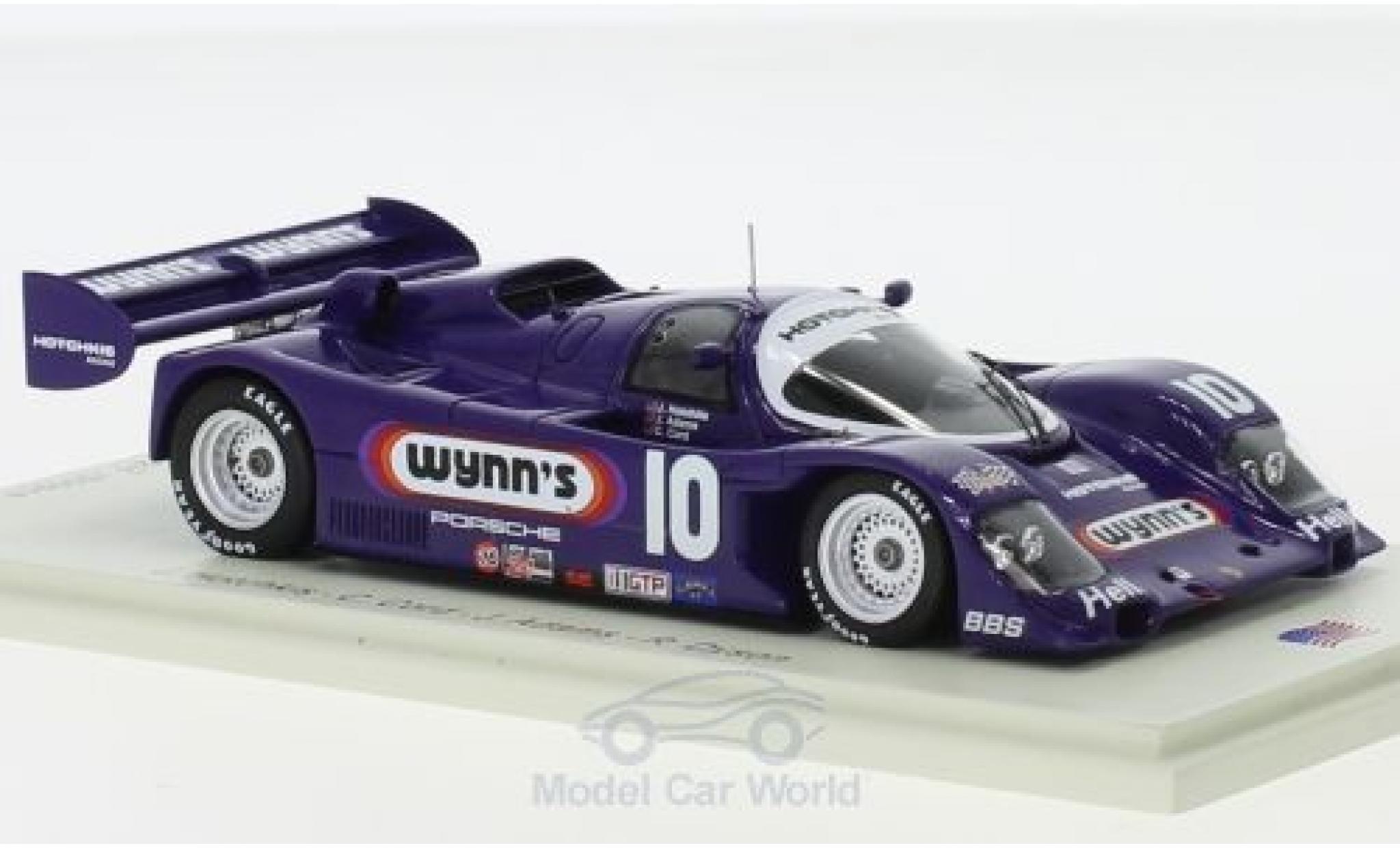 Porsche 962 1/43 Spark RHD No.10 Hotchkis Racing Wynns 24h Daytona 1991 J.Hotchkis/C.Cord/J.Adams/R.Dyson