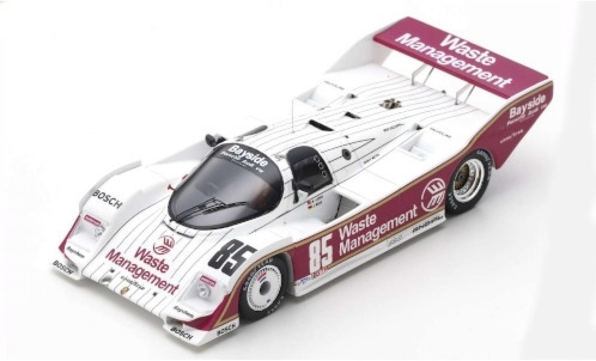 Porsche 962 1/43 Spark RHD No.85 2h Del Mar 1987 J.Mass