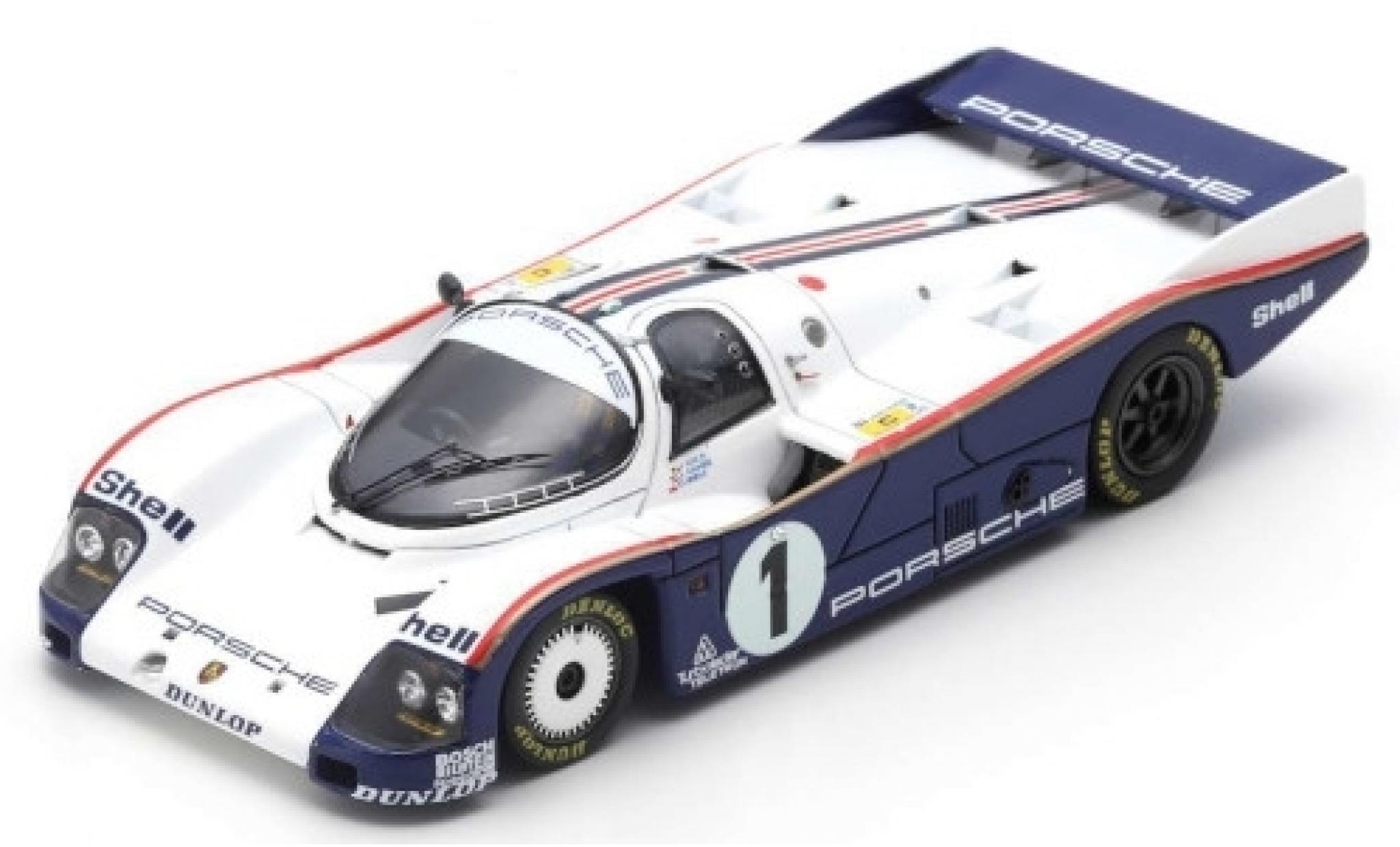 Porsche 962 1985 1/43 Spark C RHD No.1 Rothmans 24h Le Mans avec Decals J.Ickx/J.Mass/D.Bell