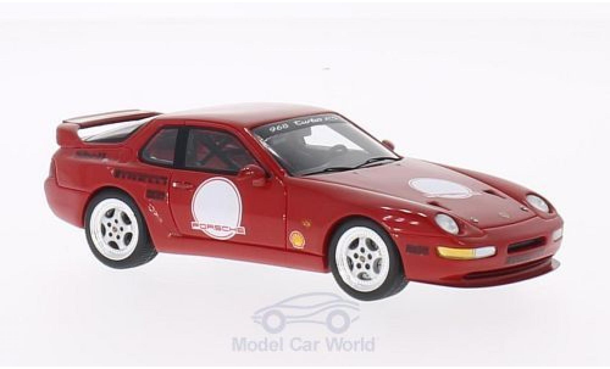 Porsche 993 Turbo 1/43 Spark 968 RS Race rouge 1