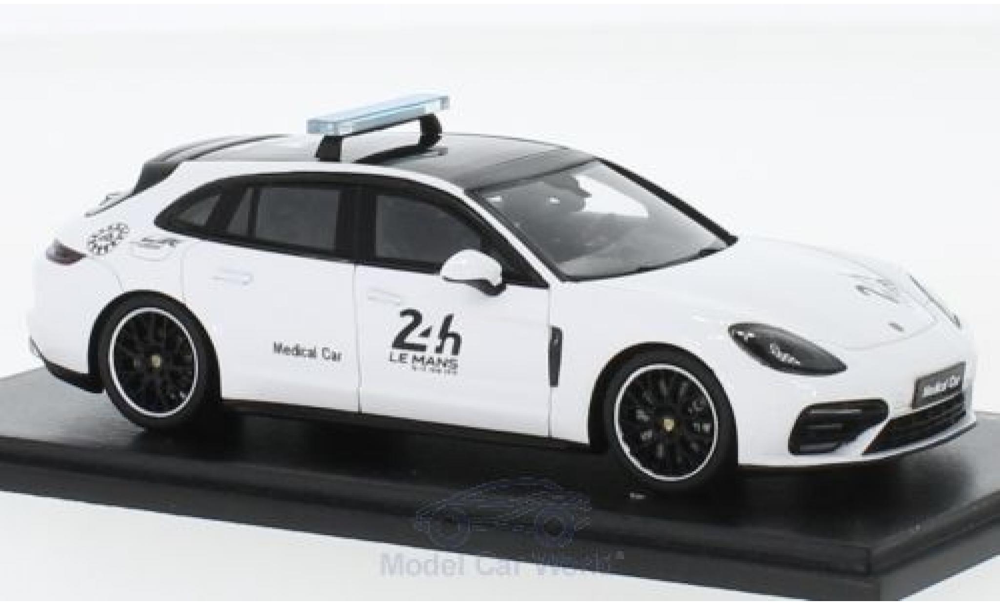 Porsche Panamera 1/43 Spark Sport Turismo 24h Le Mans 2018 Medical Car