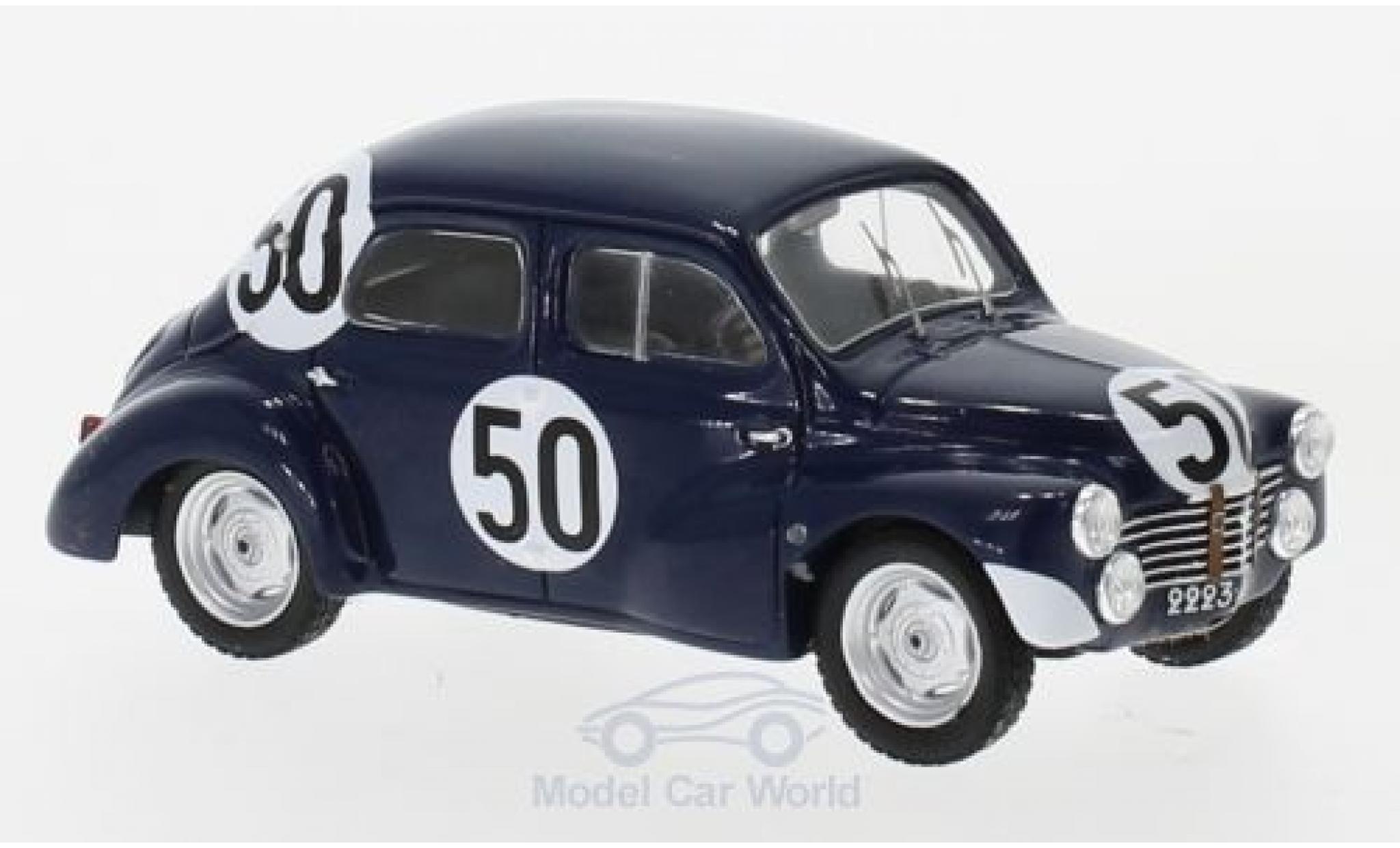 Renault 4CV 1/43 Spark 1063 No.50 24h Le Mans 1951 F.Landon/A.Briat