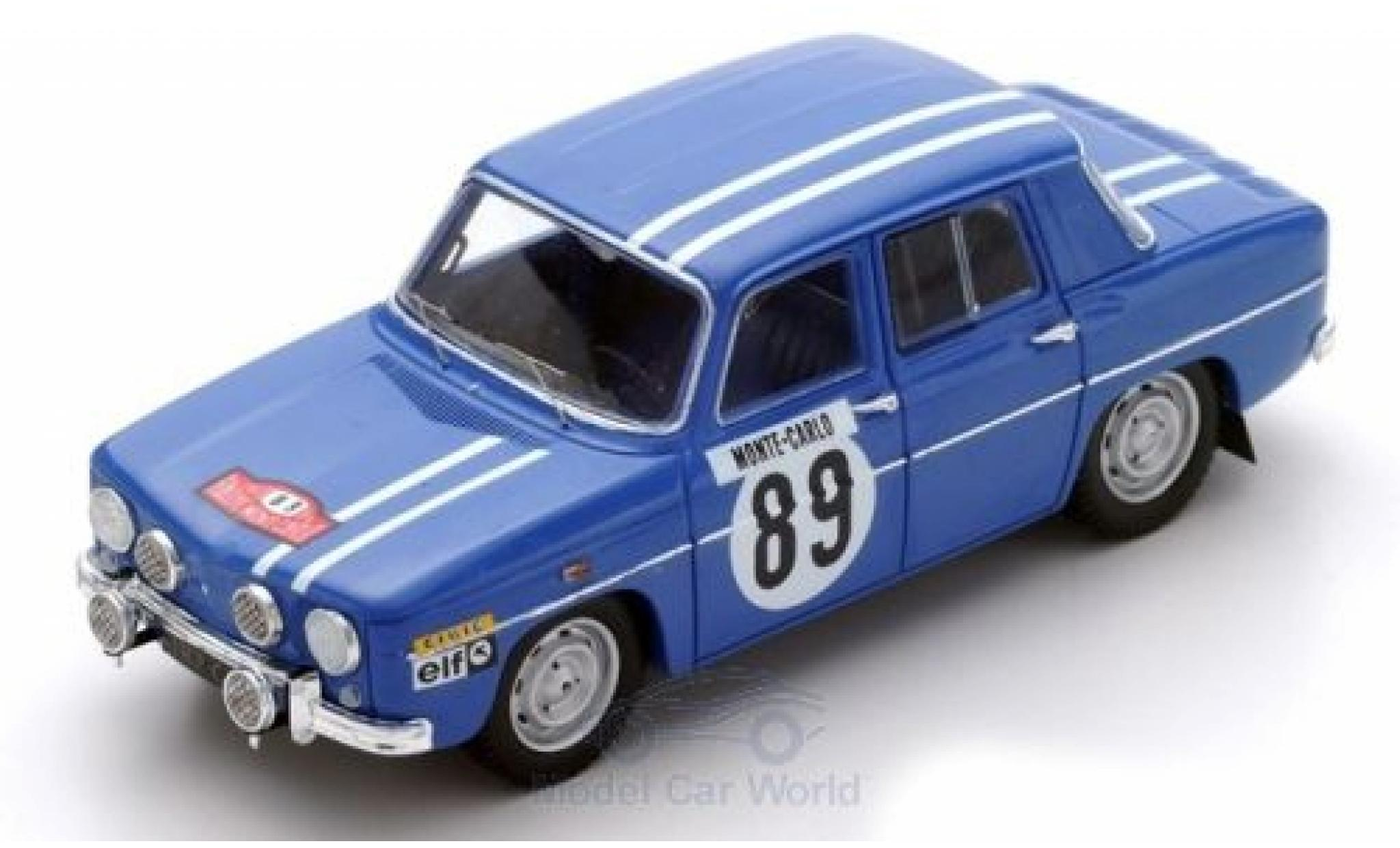Renault 8 1/43 Spark Gordini No.9 Rallye Monte Carlo 1969 J-L.Therier/M.Callewaert