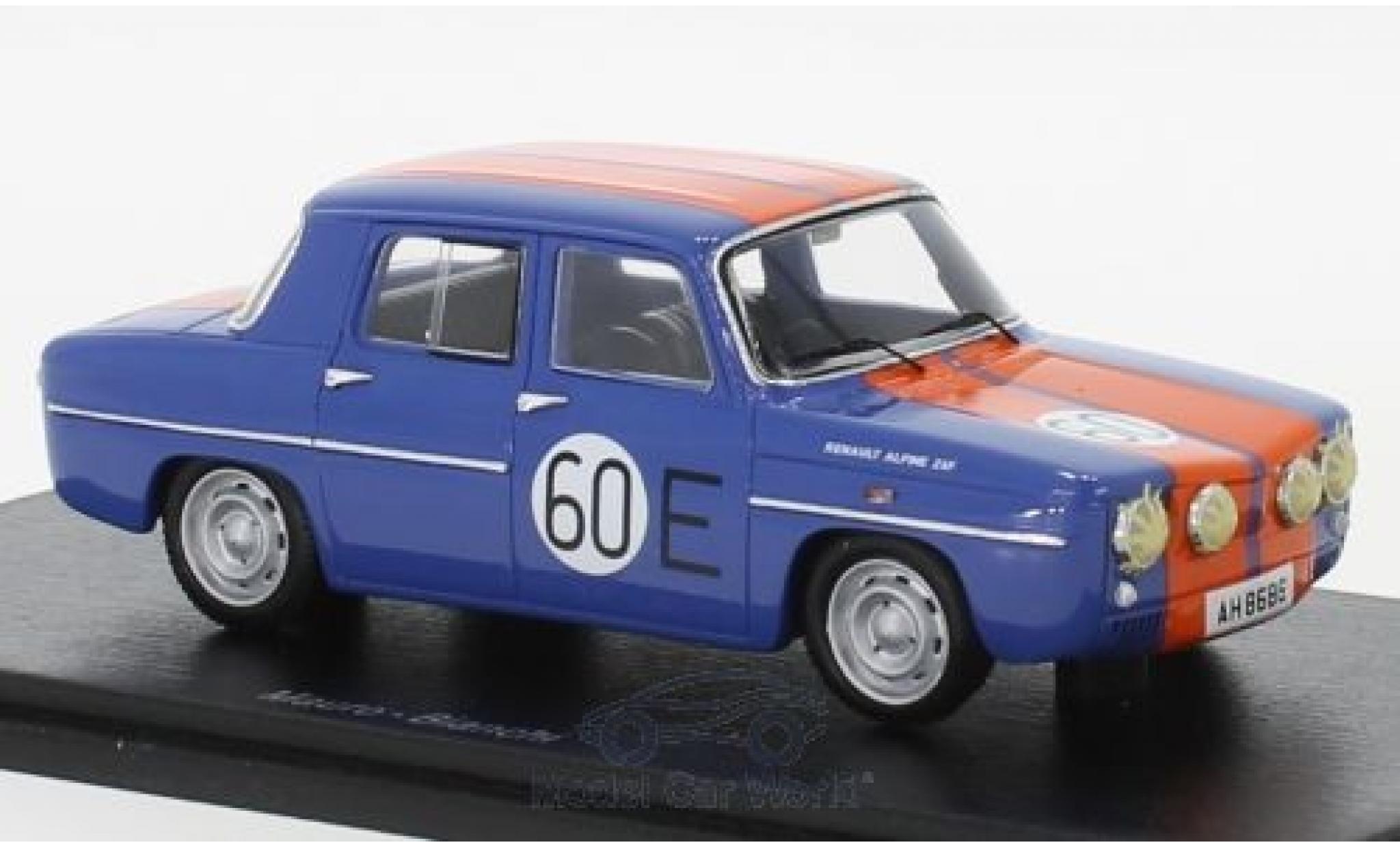 Renault 8 1/43 Spark Gordini RHD No.60 Macau 1966 M.Bianchi