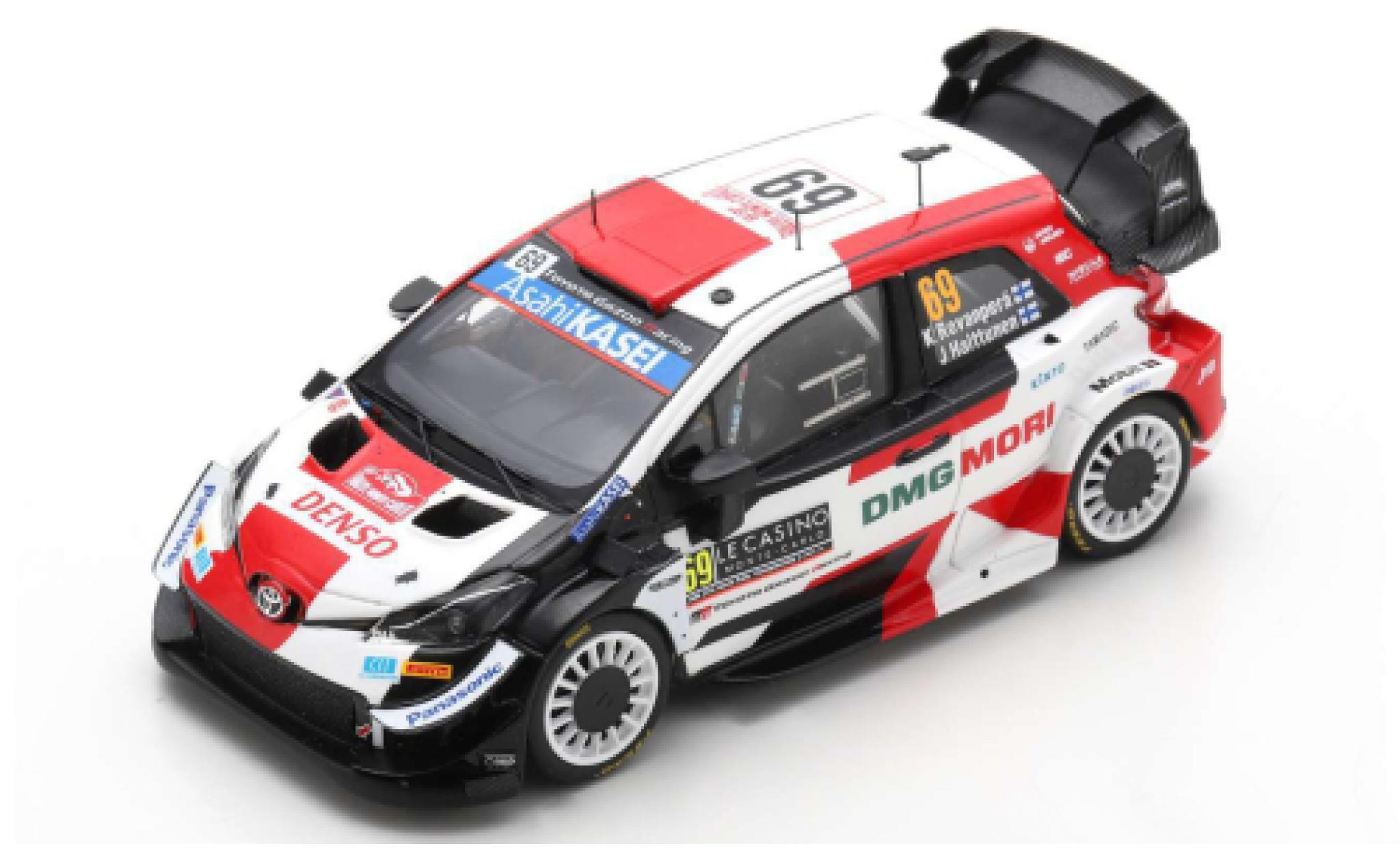 Toyota Yaris 1/43 Spark WRC No.69 Gazoo Racing Rallye WM Rallye Monte Carlo 2021 K.Rovanperä/J.Halttunen