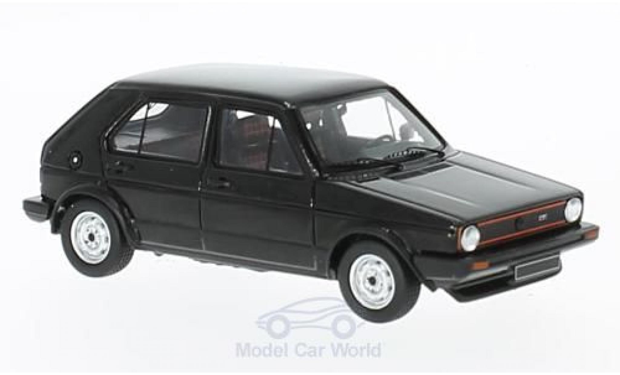 Volkswagen Golf V 1/43 Spark 1 GTI noire 1976