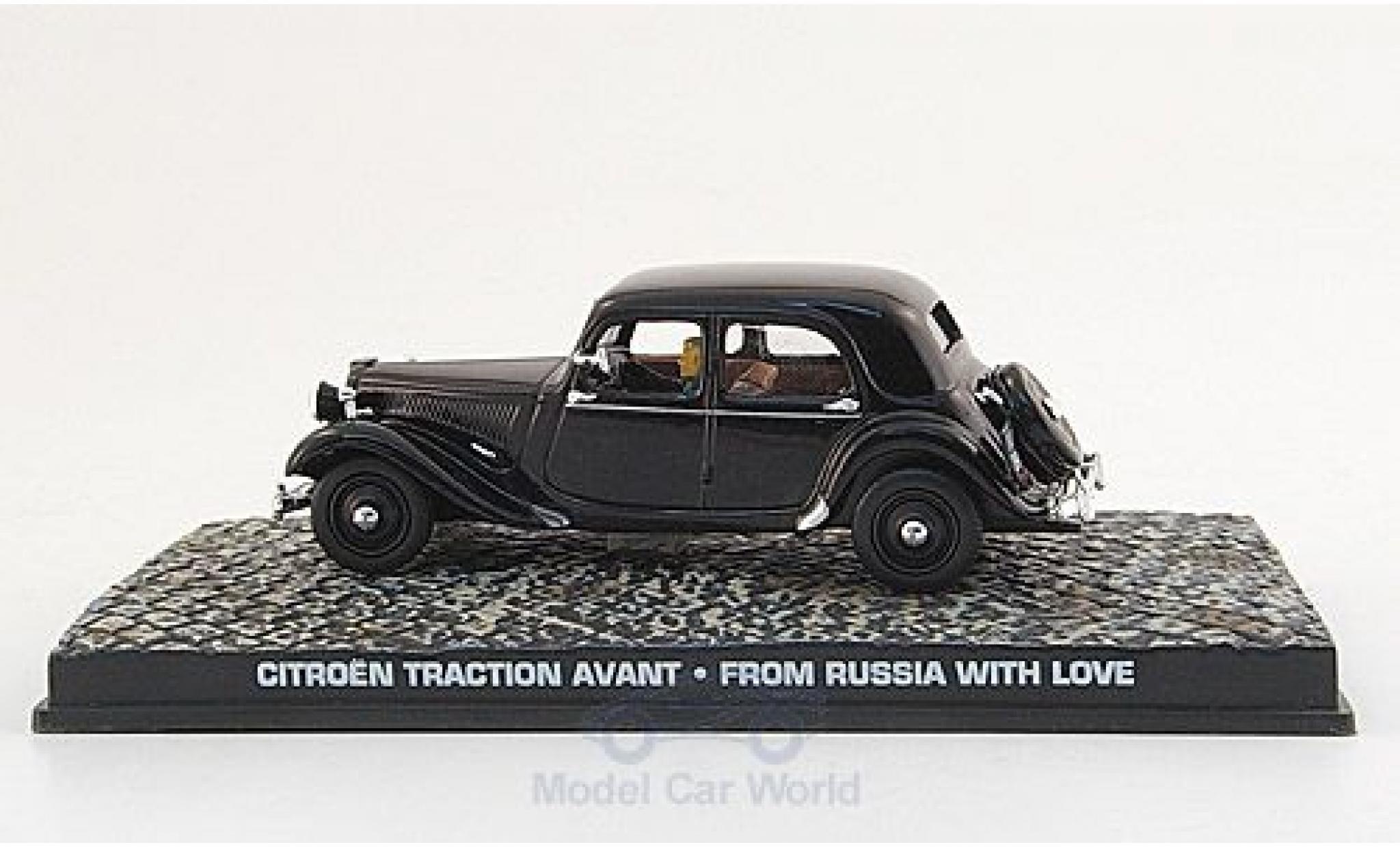Citroen Traction 1/43 SpecialC. 007 Avant noire James Bond 007 1963 Liebesgrüße aus Moskau ohne Vitrine