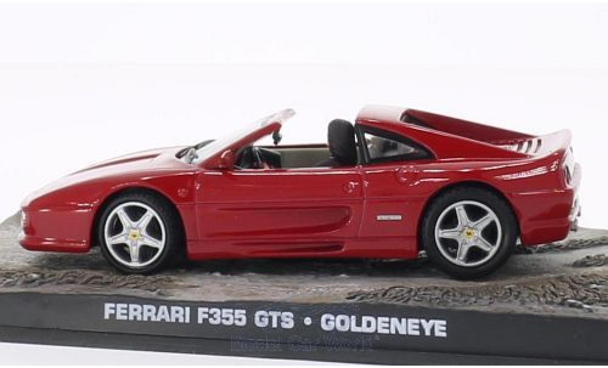 Ferrari F355 1/43 SpecialC 007 GTS rouge James Bond 007 Goldeneye ohne Vitrine