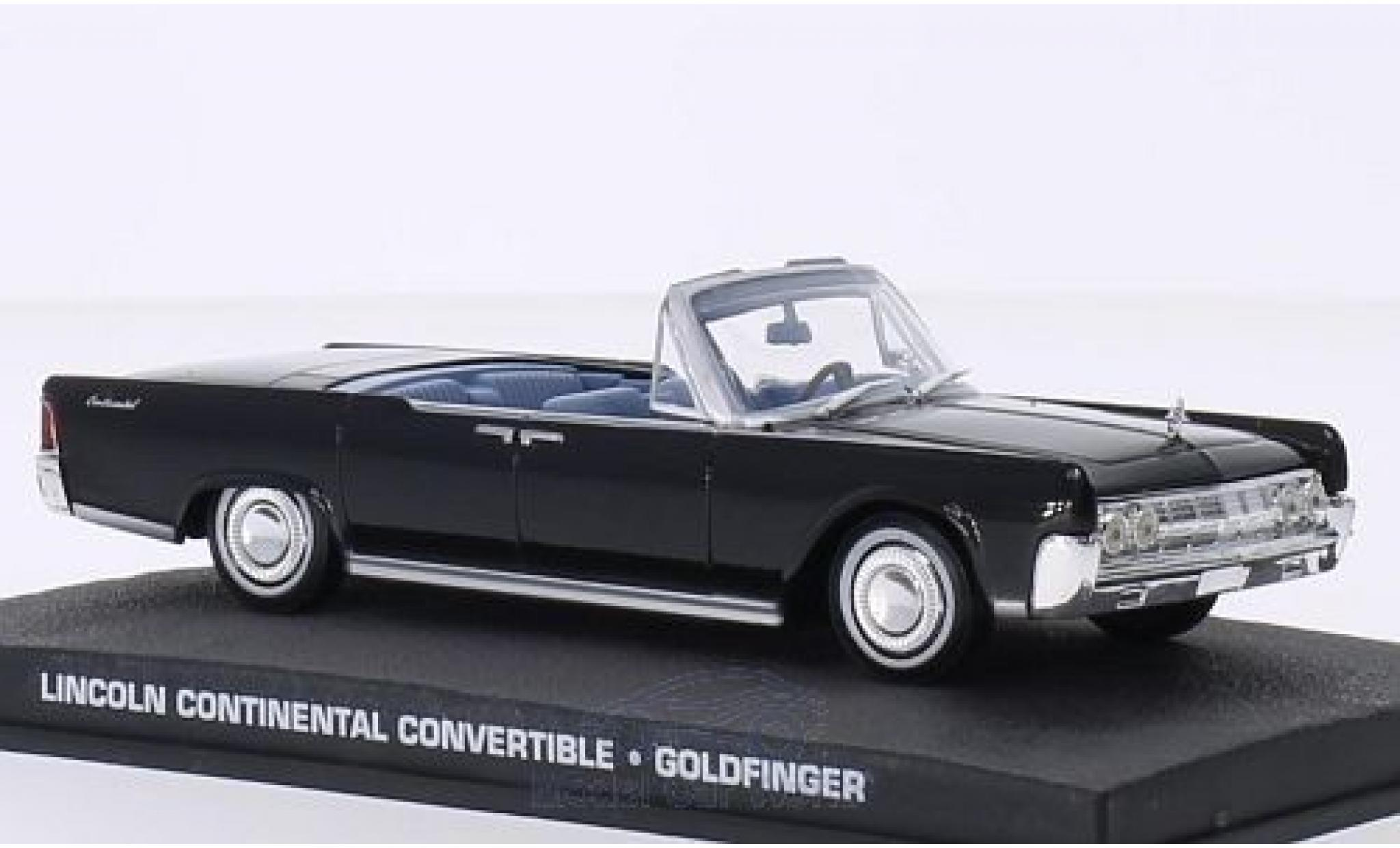 miniature lincoln continental 1  43 specialc 007 convertible james bond 007 goldfinger ohne