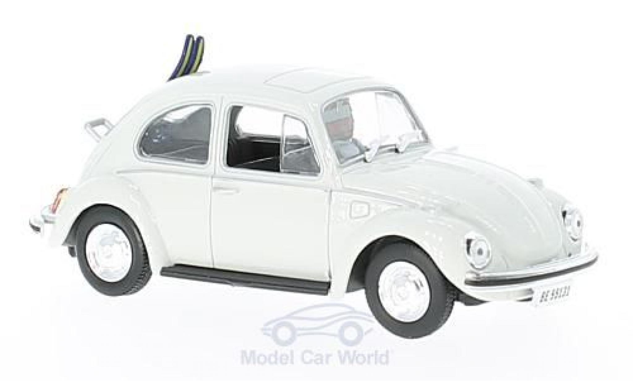 Volkswagen Beetle 1/43 SpecialC. 007 white James Bond 007 Im Geheimdienst Ihrer Majestät ohne Vitrine