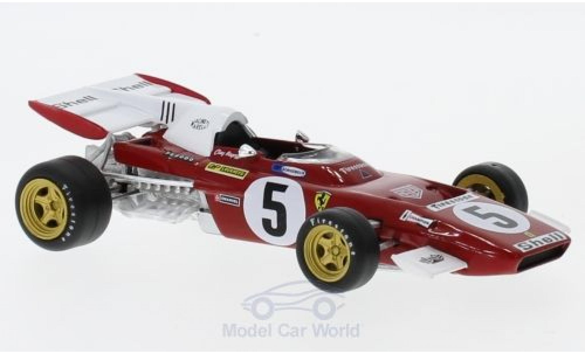 Ferrari 312 B 1/43 SpecialC 108 2 No.5 Formel 1 1971 C.Regazzoni