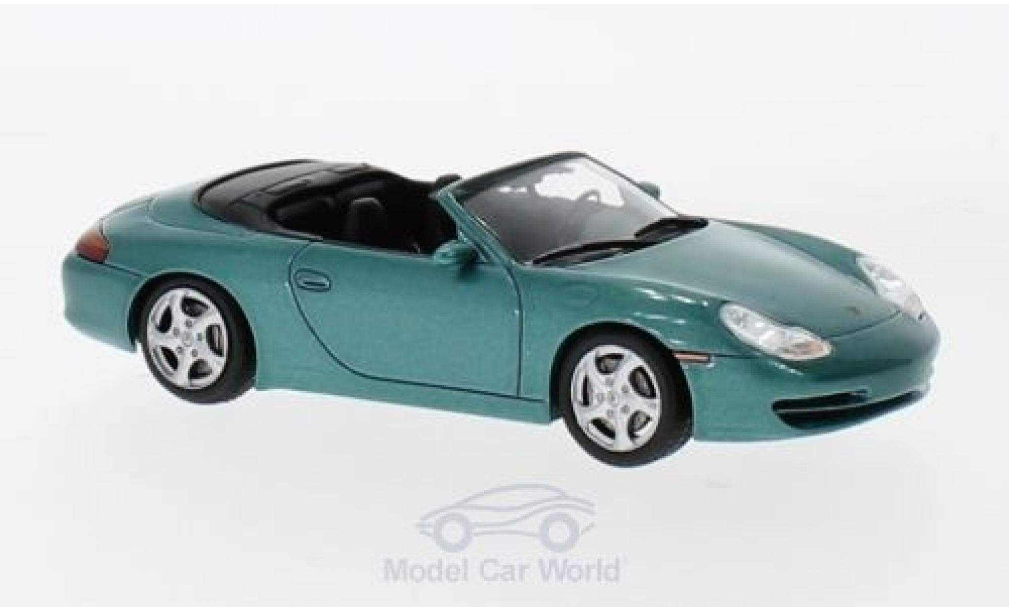 Porsche 996 SC 1/43 SpecialC 111 Carrera Cabriolet metallic-grün 1999 Collection