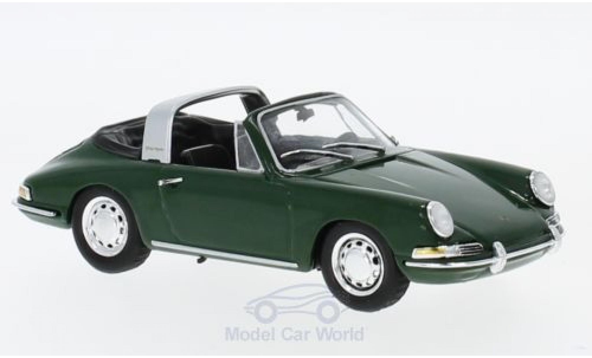 Porsche 911 Targa 1/43 SpecialC 111 verte 1965 Collection