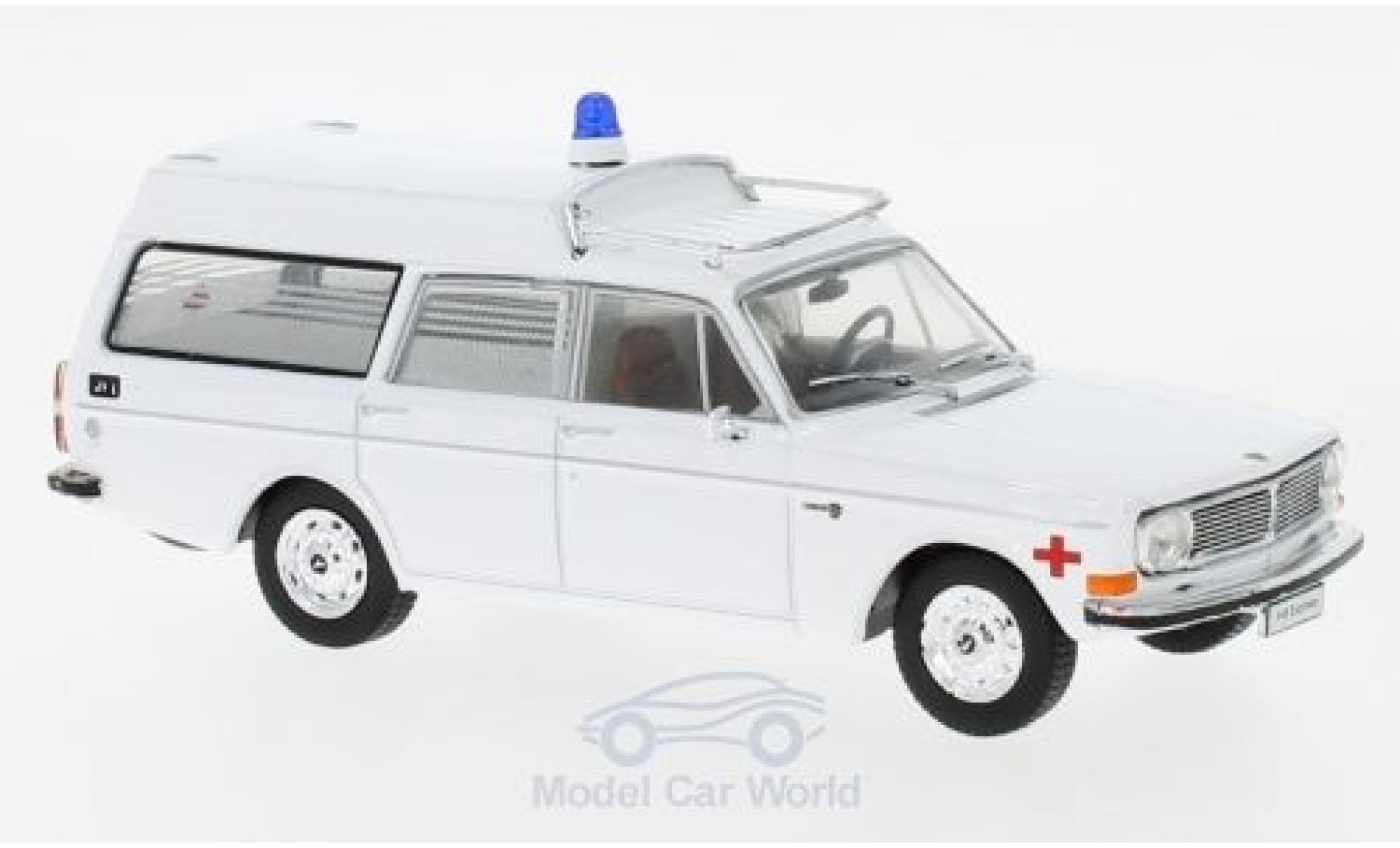 Volvo 145 1/43 SpecialC 112 Express blanche Ambulance 1969 ohne Vitrine