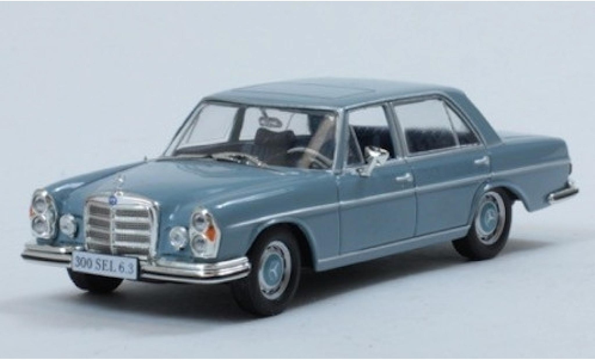 Mercedes 300 1/43 SpecialC 115 SEL 6.3 bleue 1969 ohne Vitrine