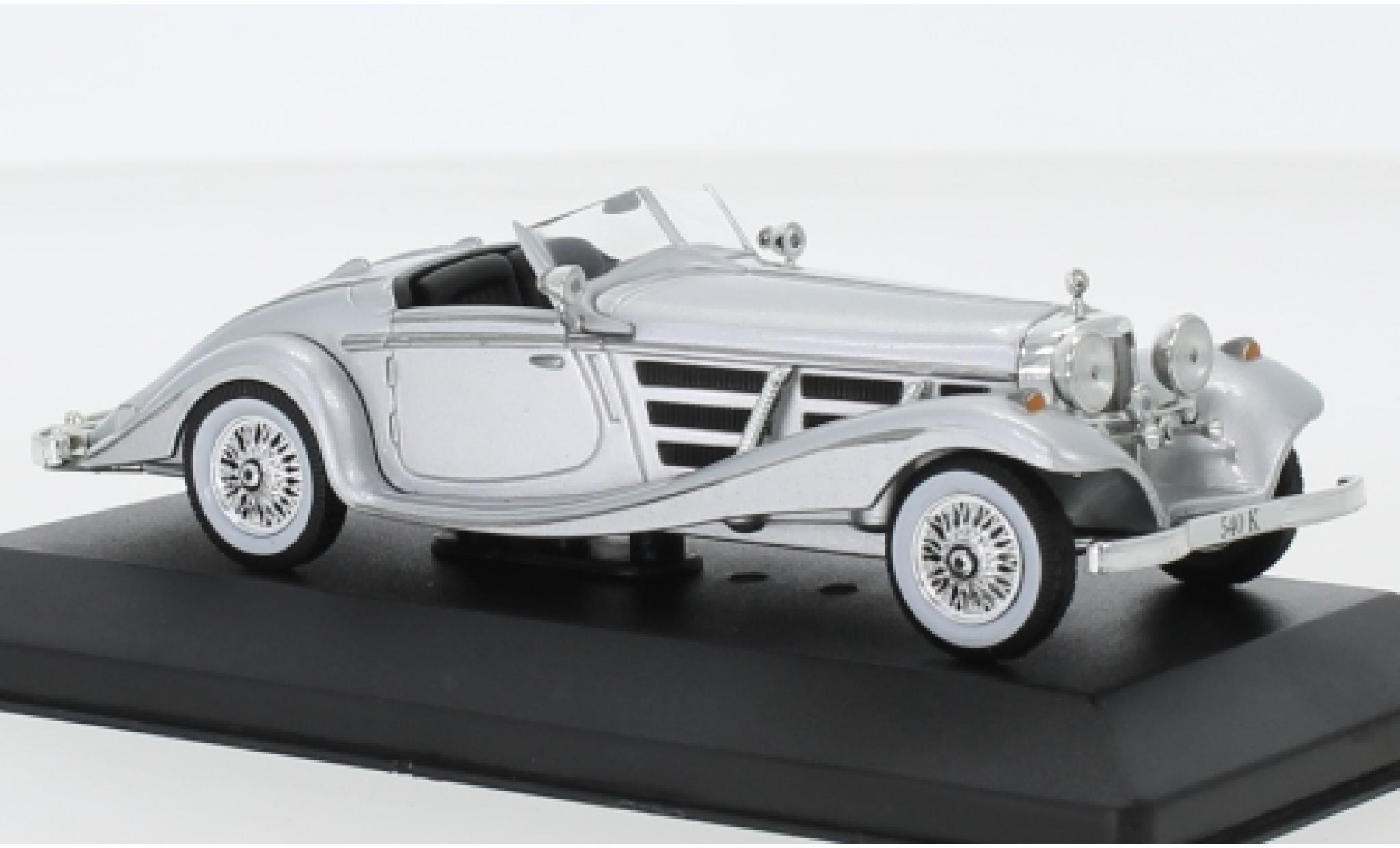 Mercedes 540 1/43 SpecialC 115 K Spezial-Roadster grise 1936 ohne Vitrine