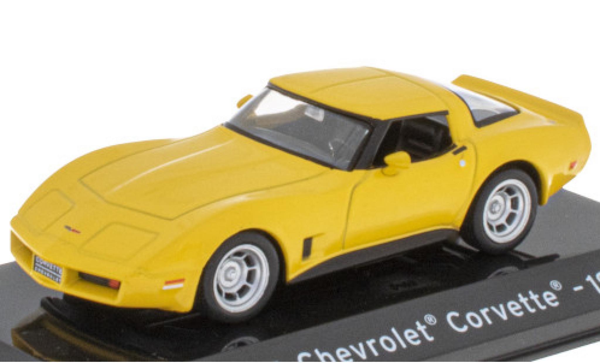 Chevrolet Corvette 1/43 SpecialC 121 (C3) yellow 1980