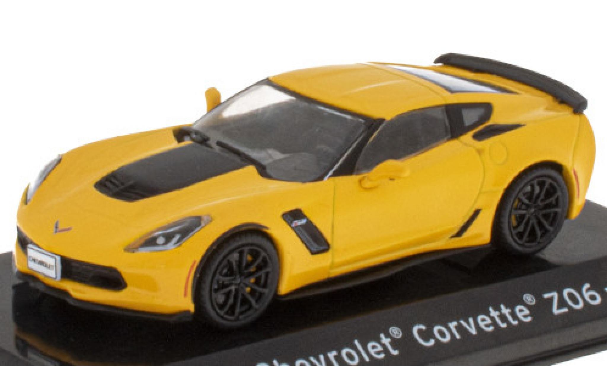 Chevrolet Corvette 1/43 SpecialC 121 Z06 (C7) yellow/matt-black 2009