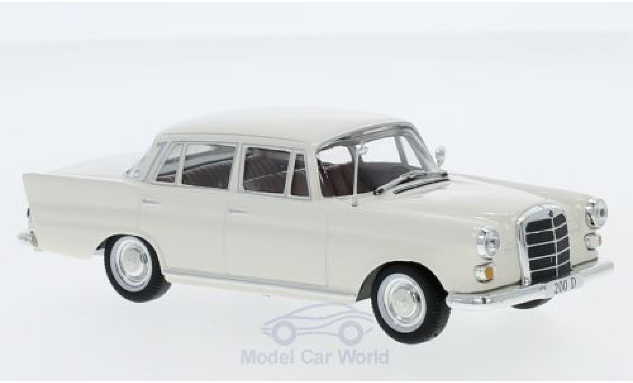 Mercedes 200 1/43 SpecialC 16 D (W110) beige 1965 ohne Vitrine