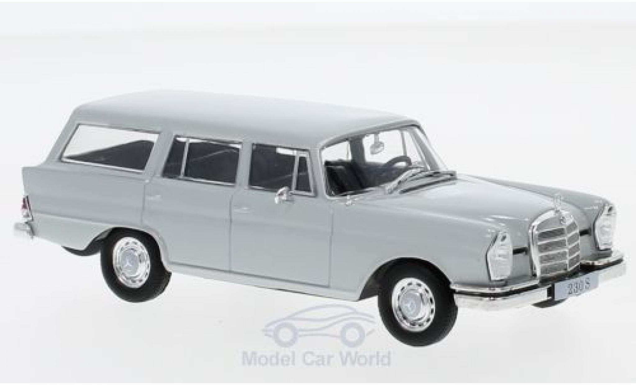 Mercedes 230 1/43 SpecialC 16 S Universal (W111) grise 1967 ohne Vitrine