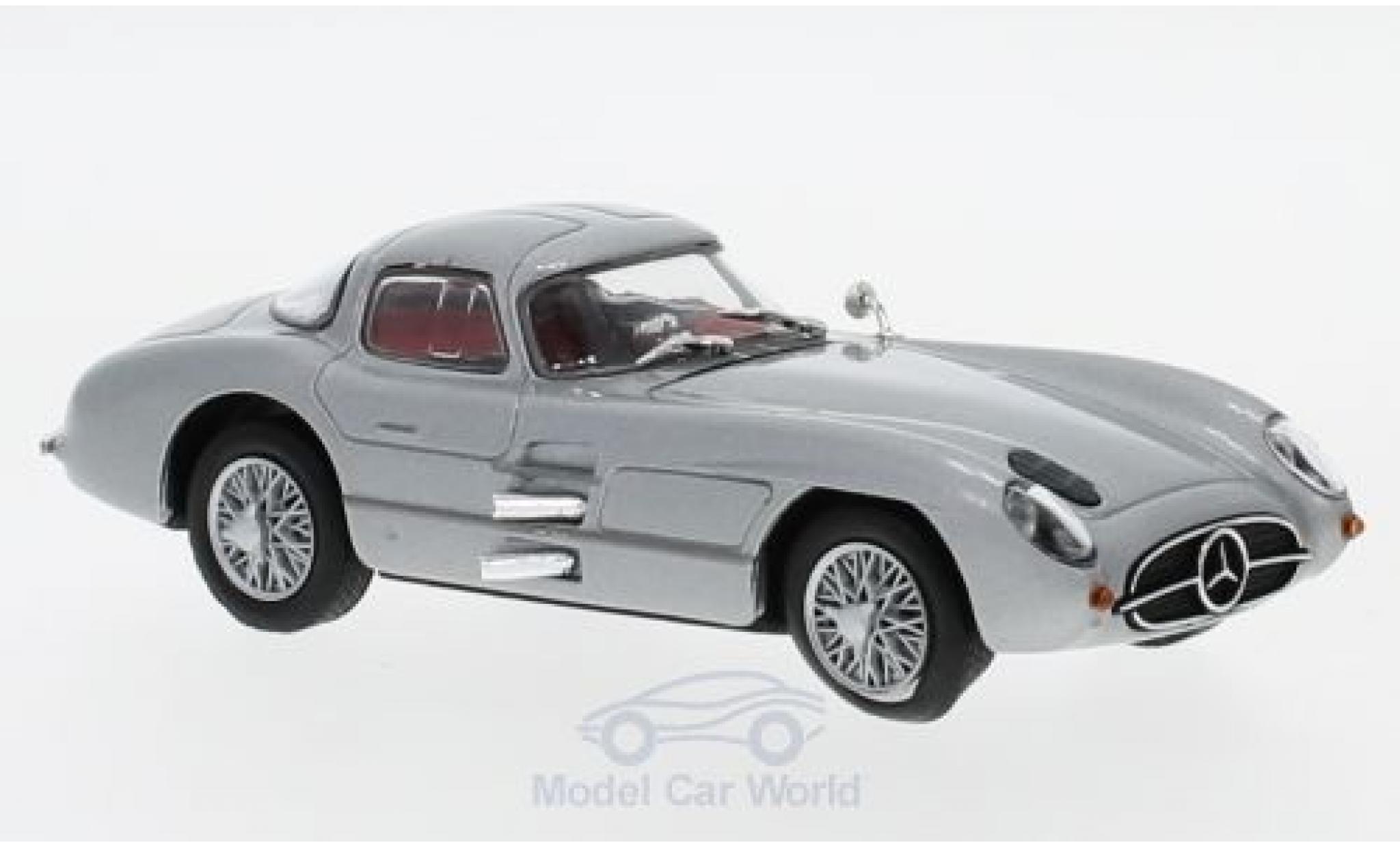 Mercedes 300 1/43 SpecialC 16 SLR Uhlenhaut-Coupe (W196S) grise 1955 ohne Vitrine