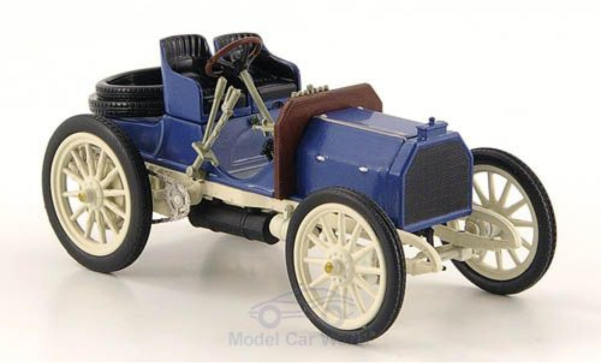 Mercedes Simplex 1/43 SpecialC 16 40 PS bleue/grise 1902 ohne Vitrine