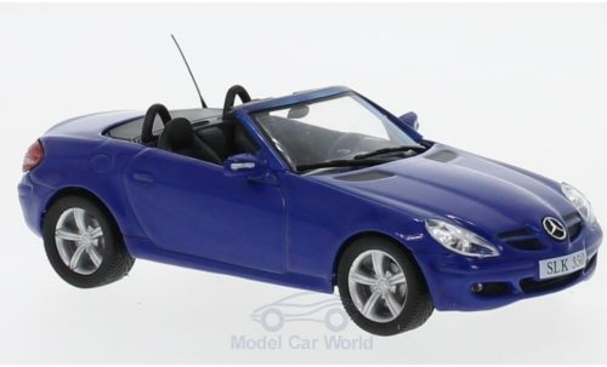 Mercedes Classe SLK 1/43 SpecialC 16 SLK 350 (R171) bleue 2004 ohne Vitrine