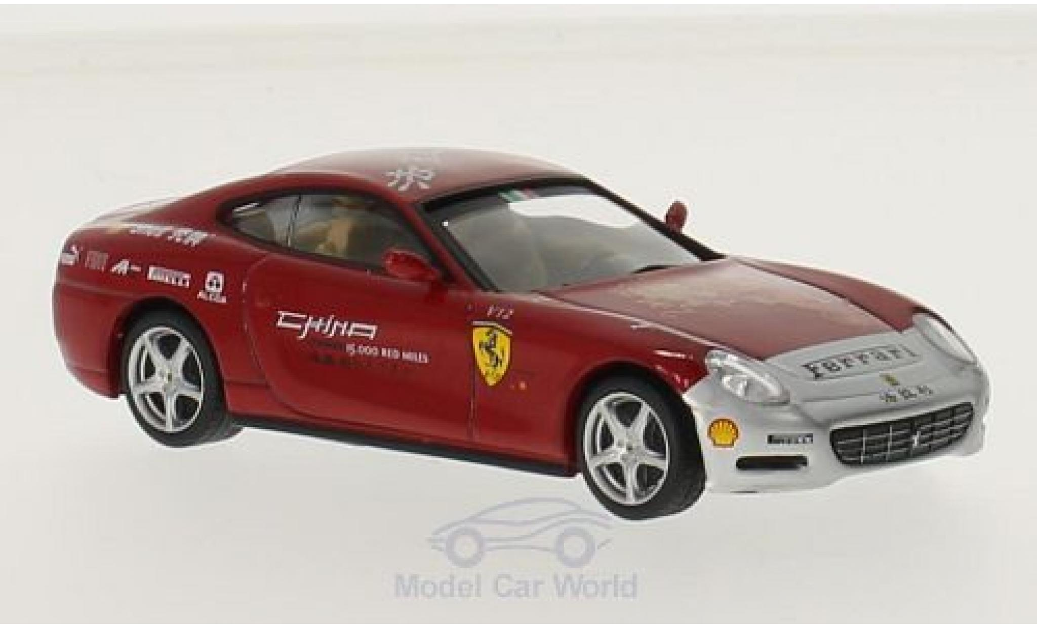 Ferrari 612 1/43 SpecialC 45 Scaglietti red China Tour ohne Vitrine