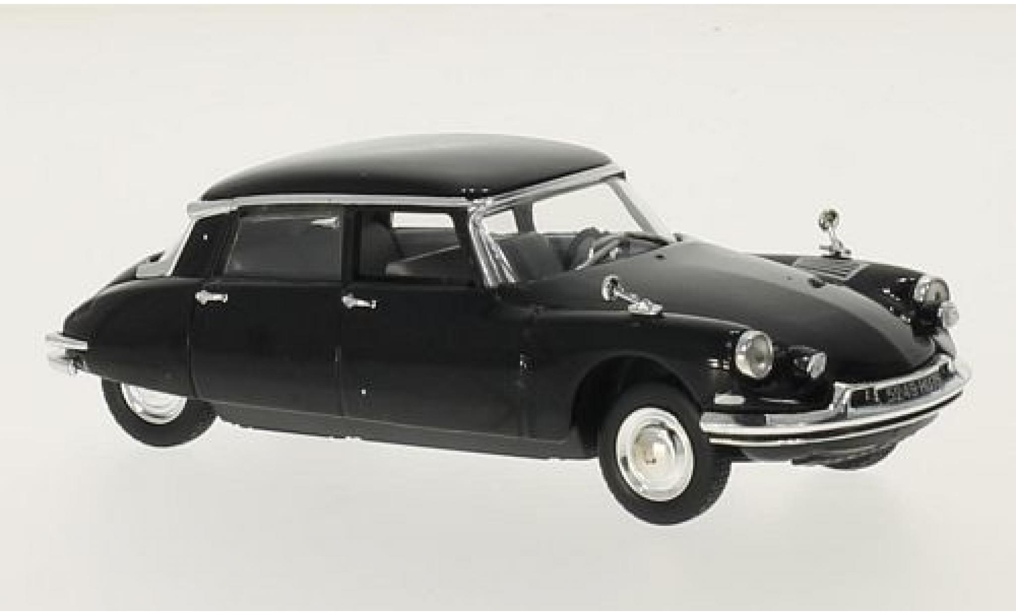 Citroen DS 1/43 SpecialC 56 19 noire Charles de Gaulle 1962 sans Vitrine